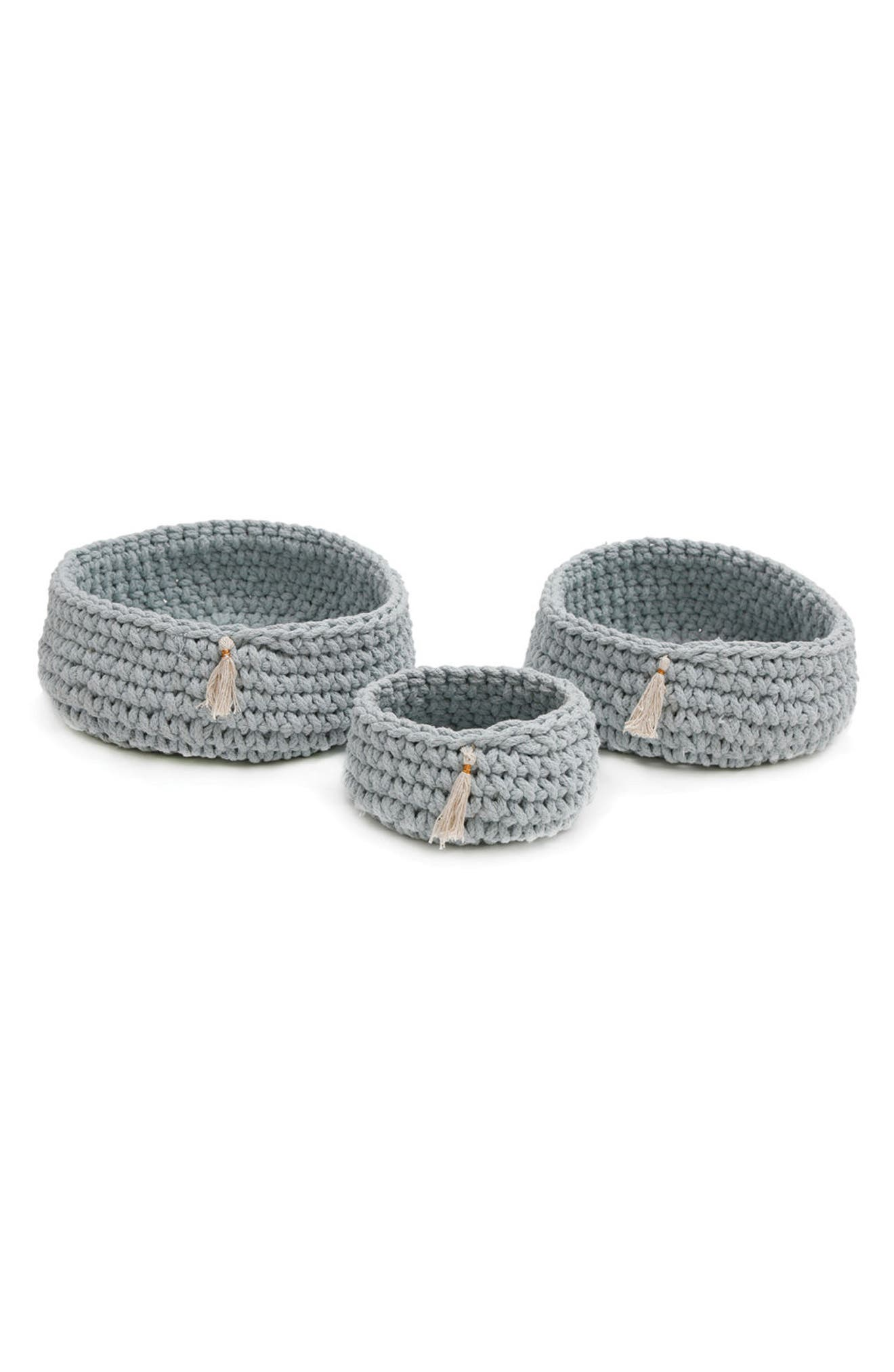 Pom Pom at Home Baya Set of 3 Baskets