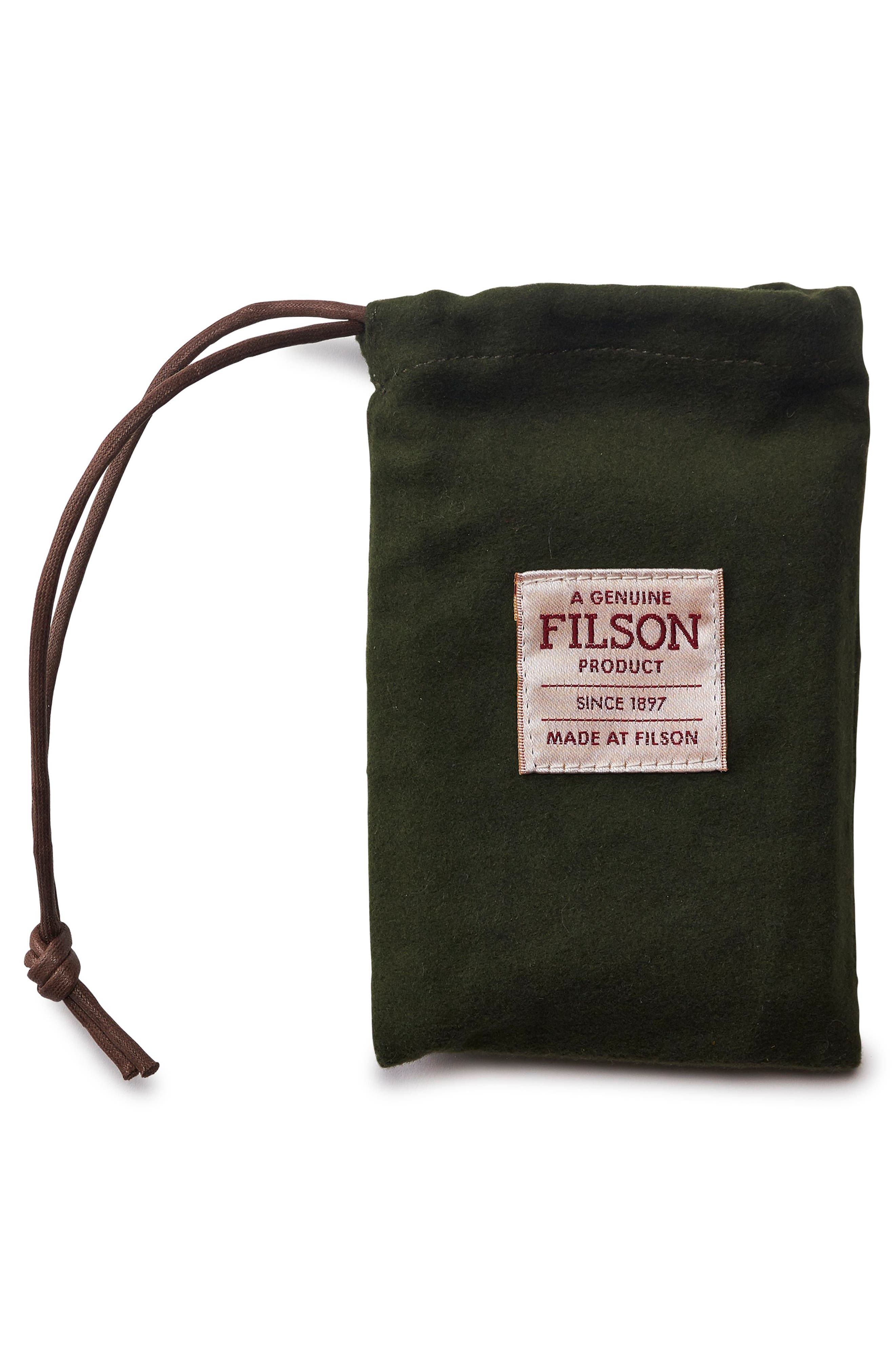 Alternate Image 3  - Filson Leather Bifold Cash & Card Case