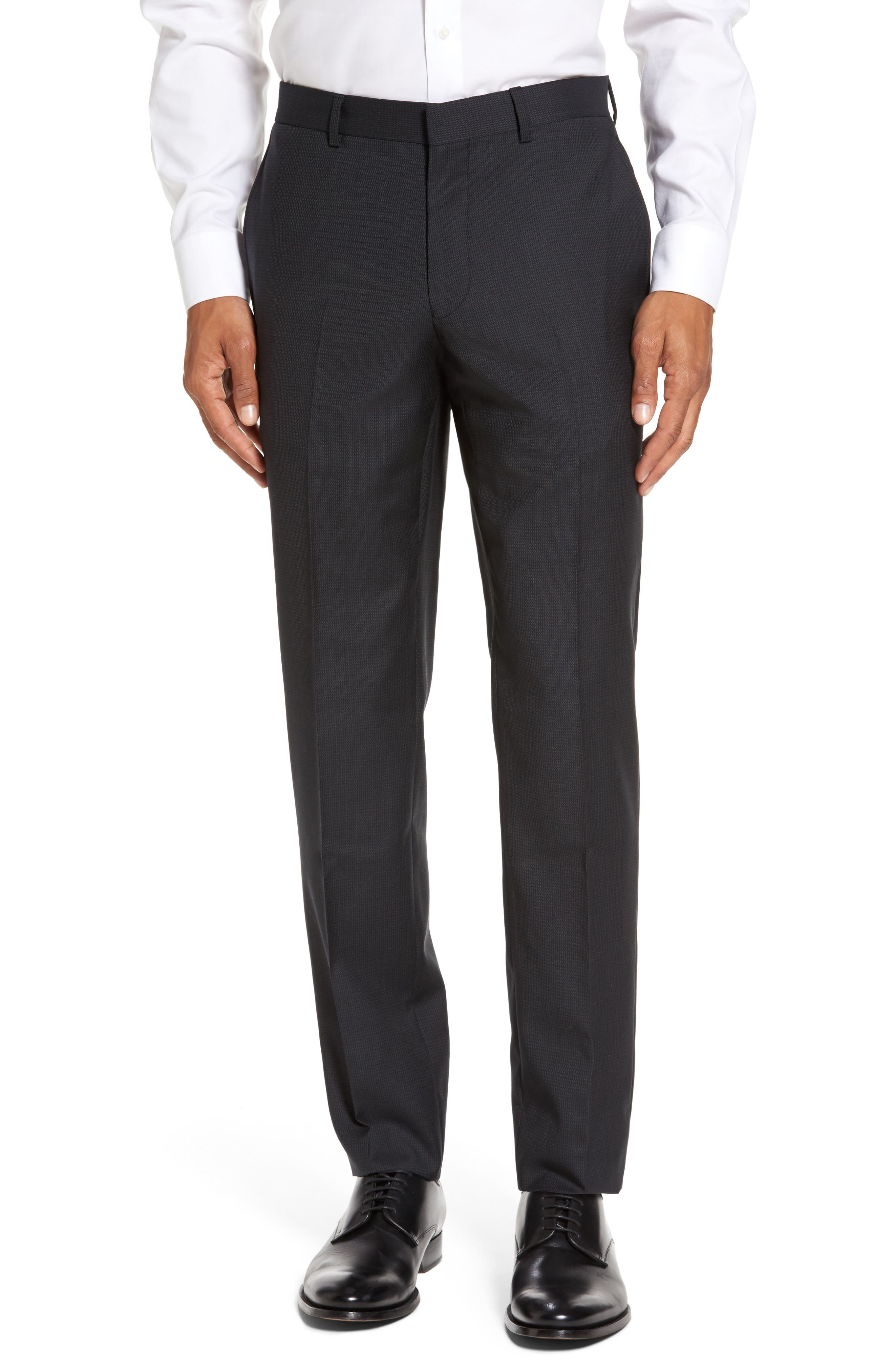 Alternate Image 6  - Ted Baker London Roger Trim Fit Solid Wool Suit