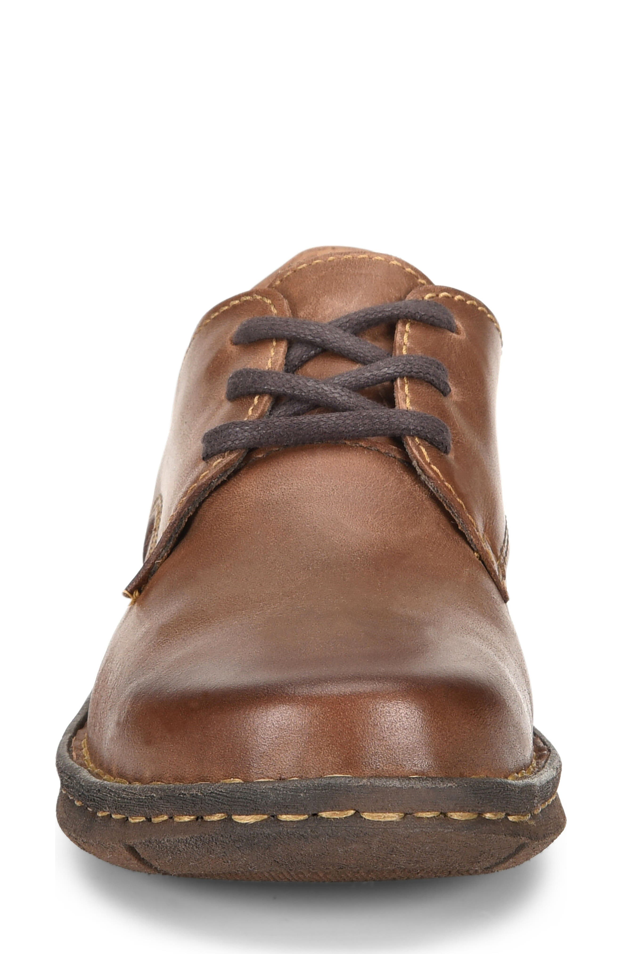 Motto Oxford,                             Alternate thumbnail 4, color,                             Brown Leather