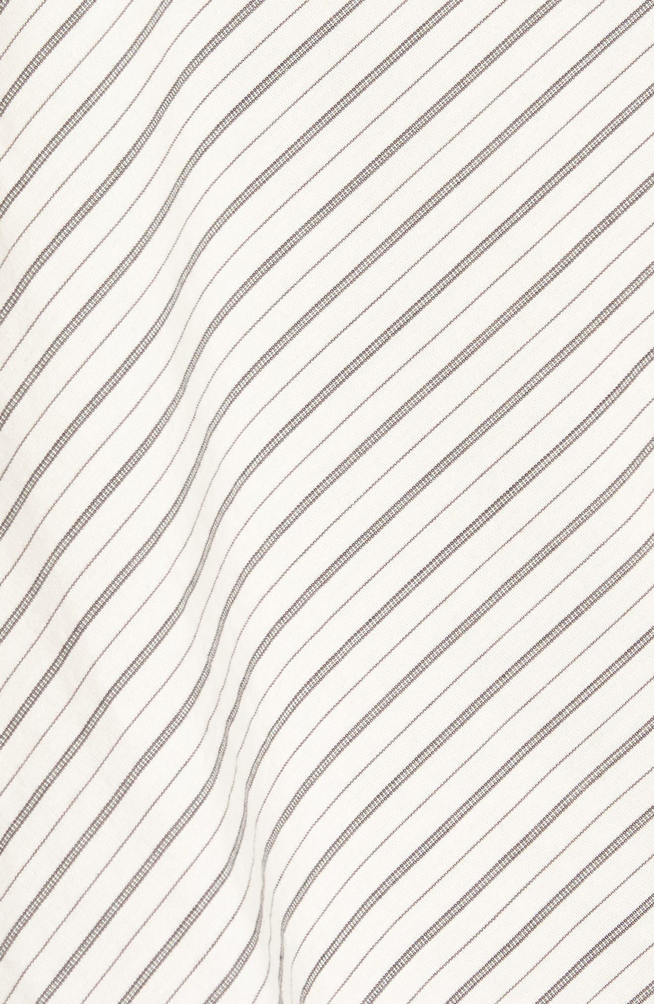 Alternate Image 5  - BP. Split Sleeve One-Shoulder Top