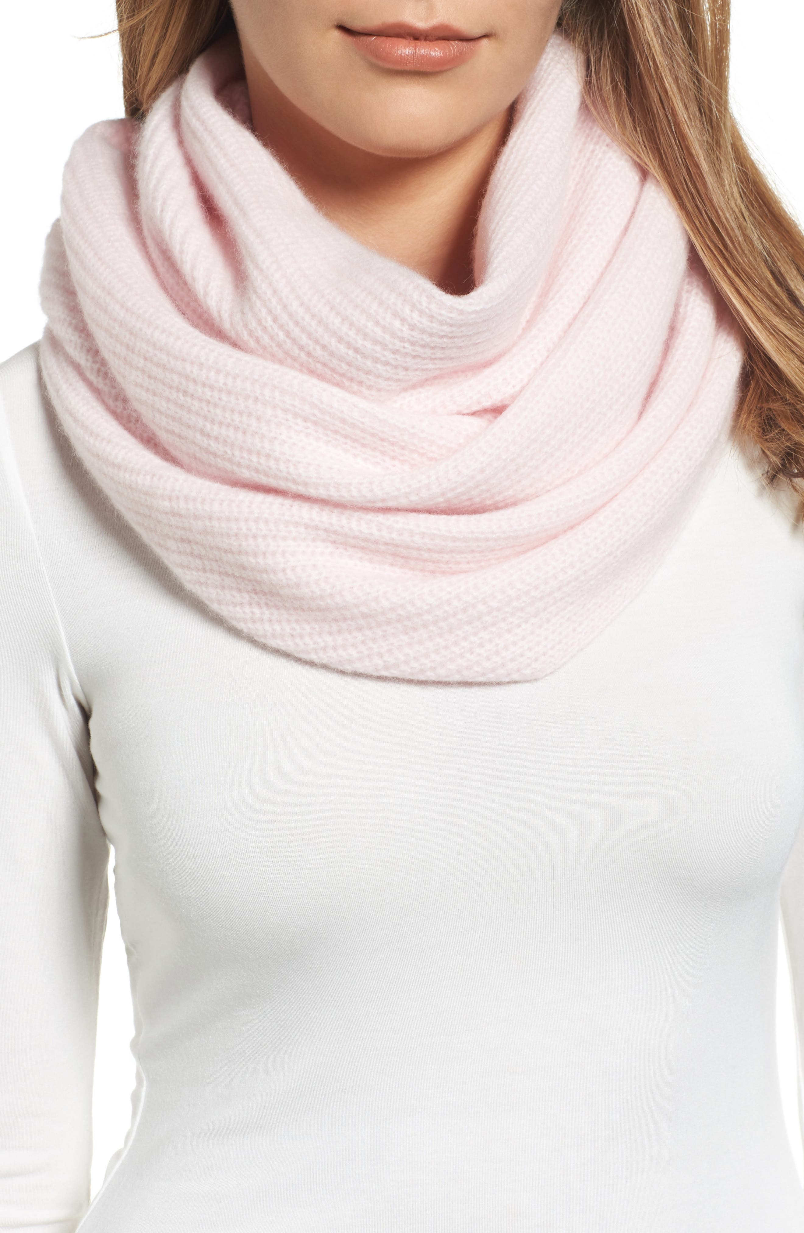 Main Image - Halogen® Cashmere Infinity Scarf