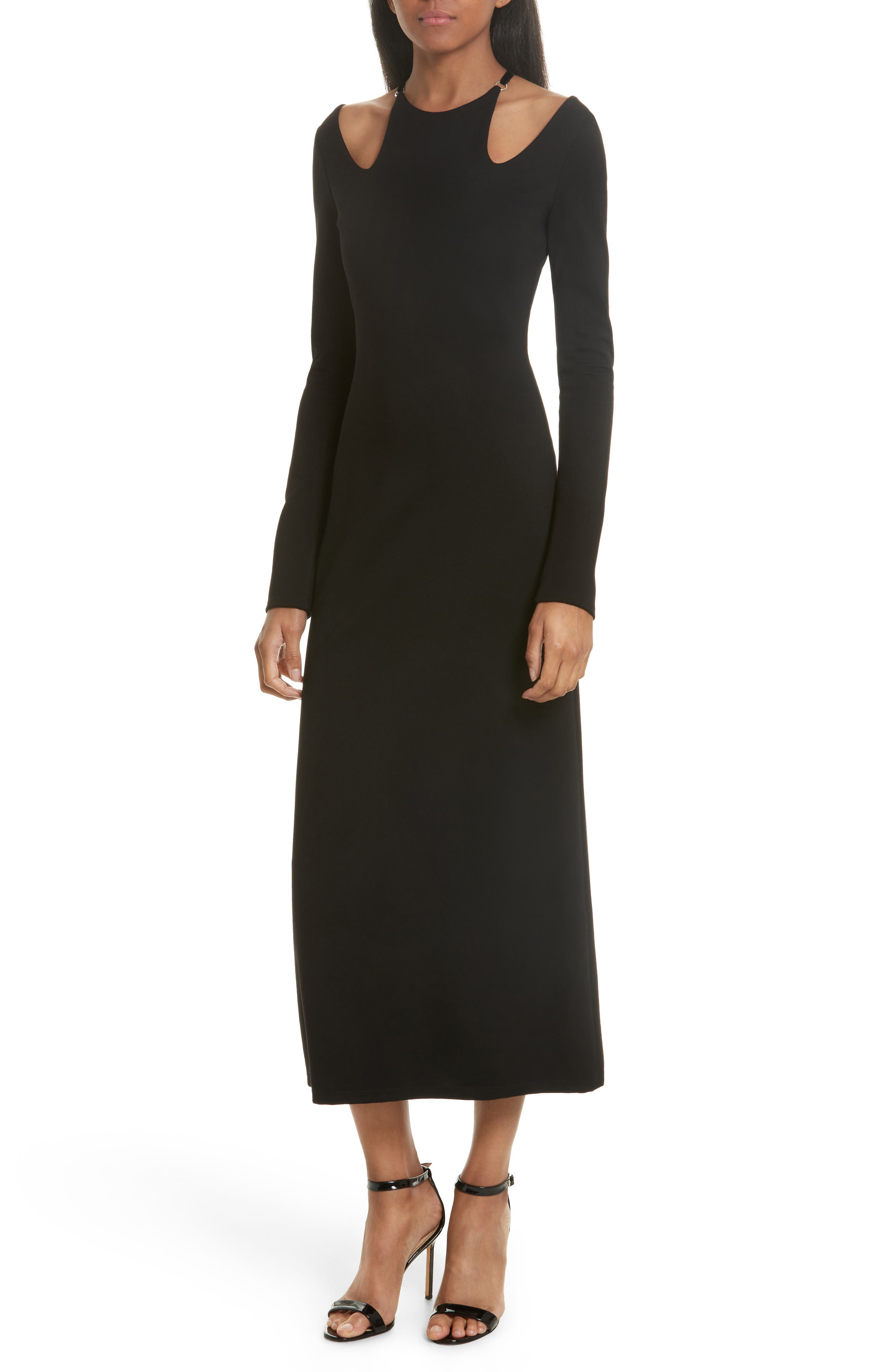 Alternate Image 1 Selected - A.L.C. Jessa Cutout Midi Dress