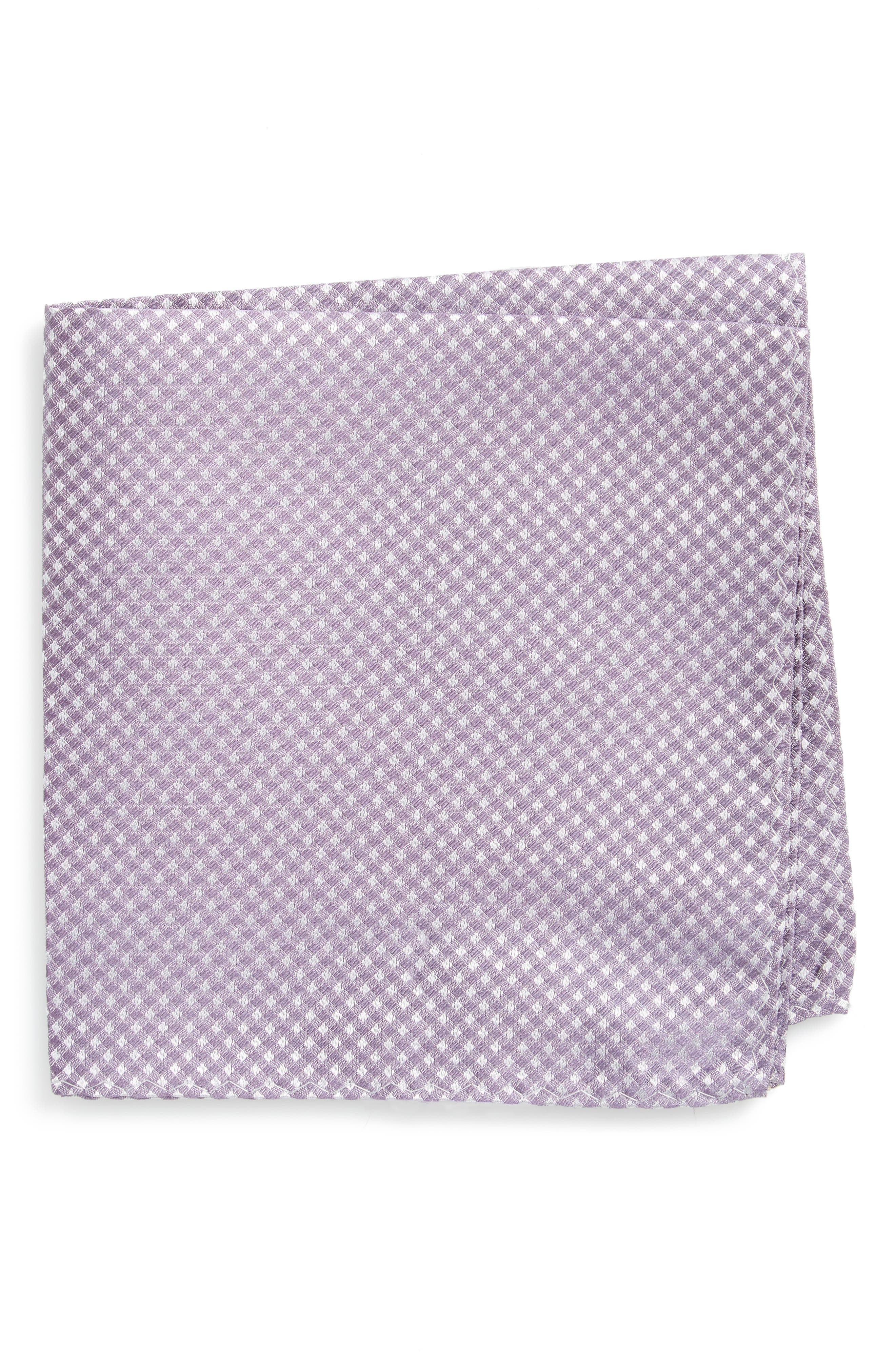 Alternate Image 1 Selected - The Tie Bar Check Silk Pocket Square