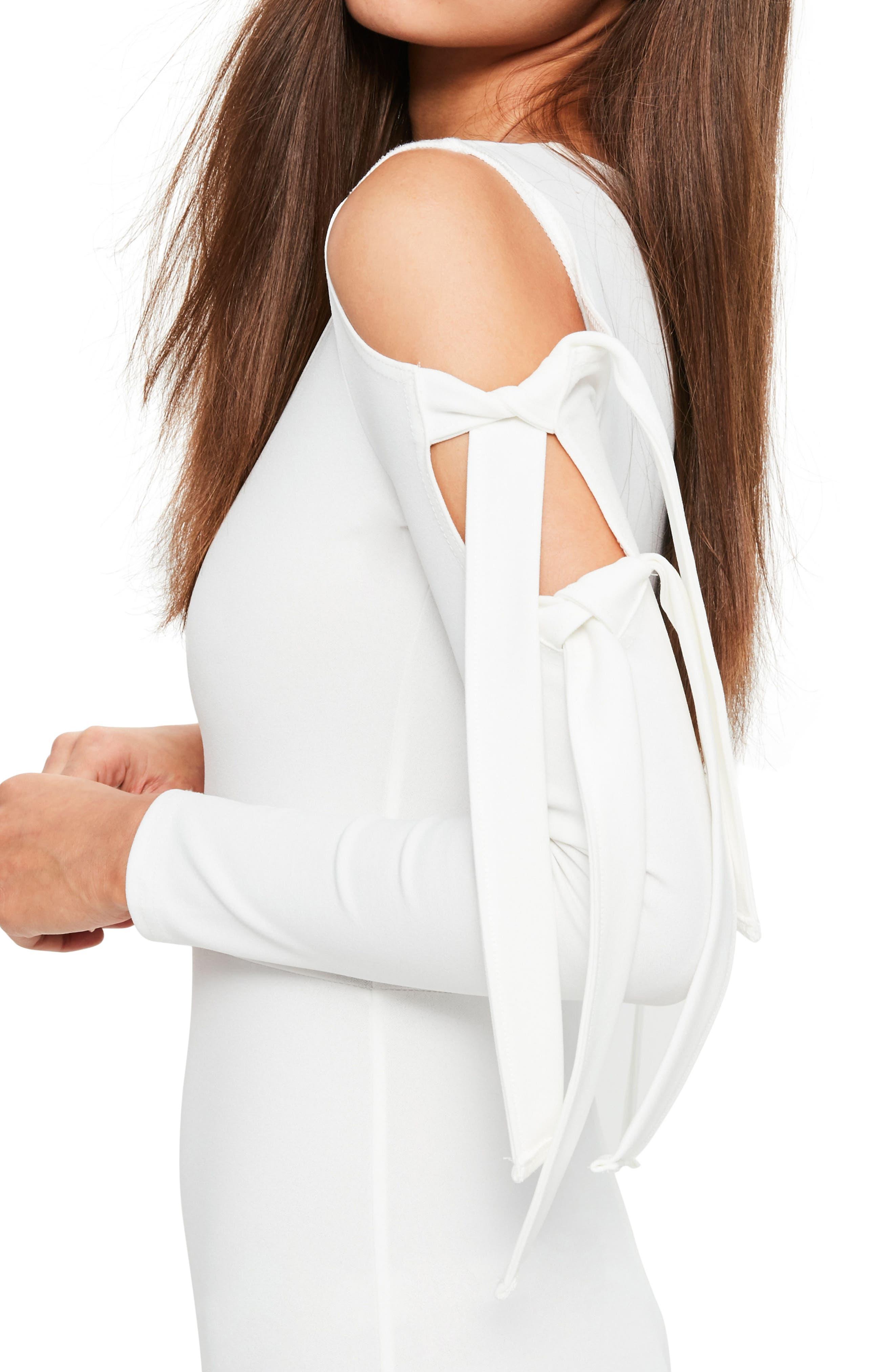 Alternate Image 4  - Missguided Cold Shoulder Jumpsuit