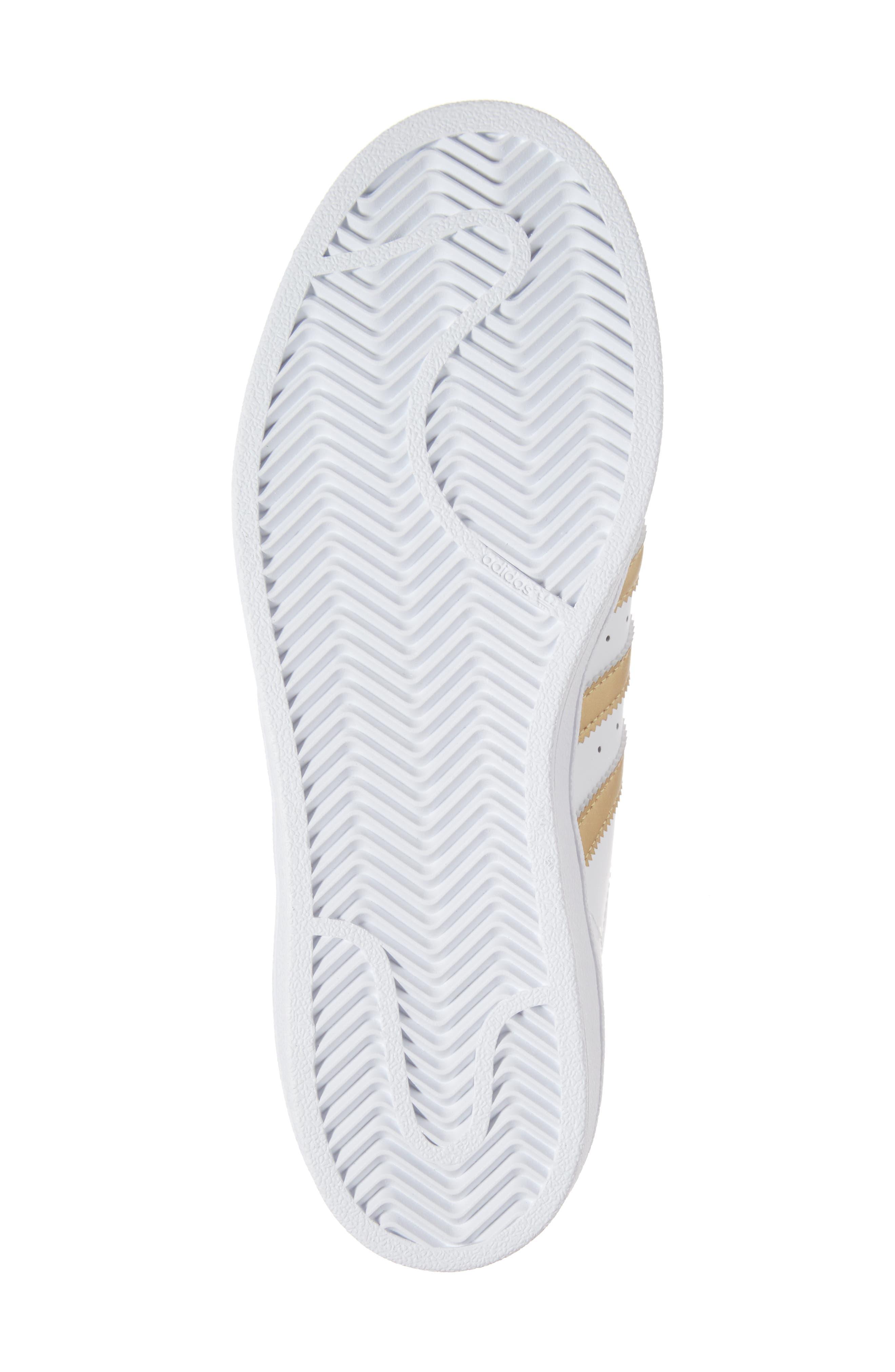 Alternate Image 6  - adidas Superstar J Sneaker (Big Kid)