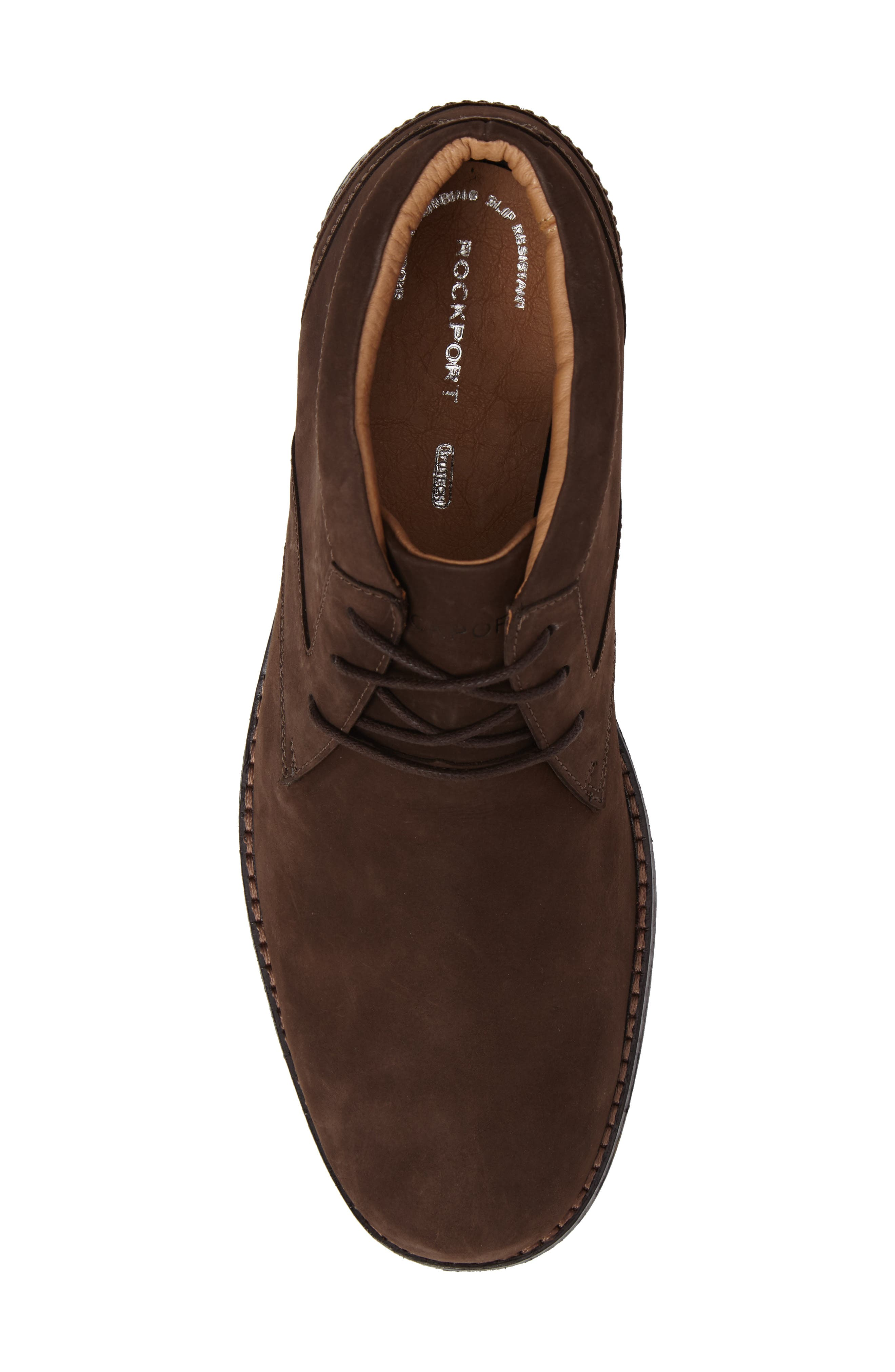 Premium Class Chukka Boot,                             Alternate thumbnail 5, color,                             Brown Nubuck