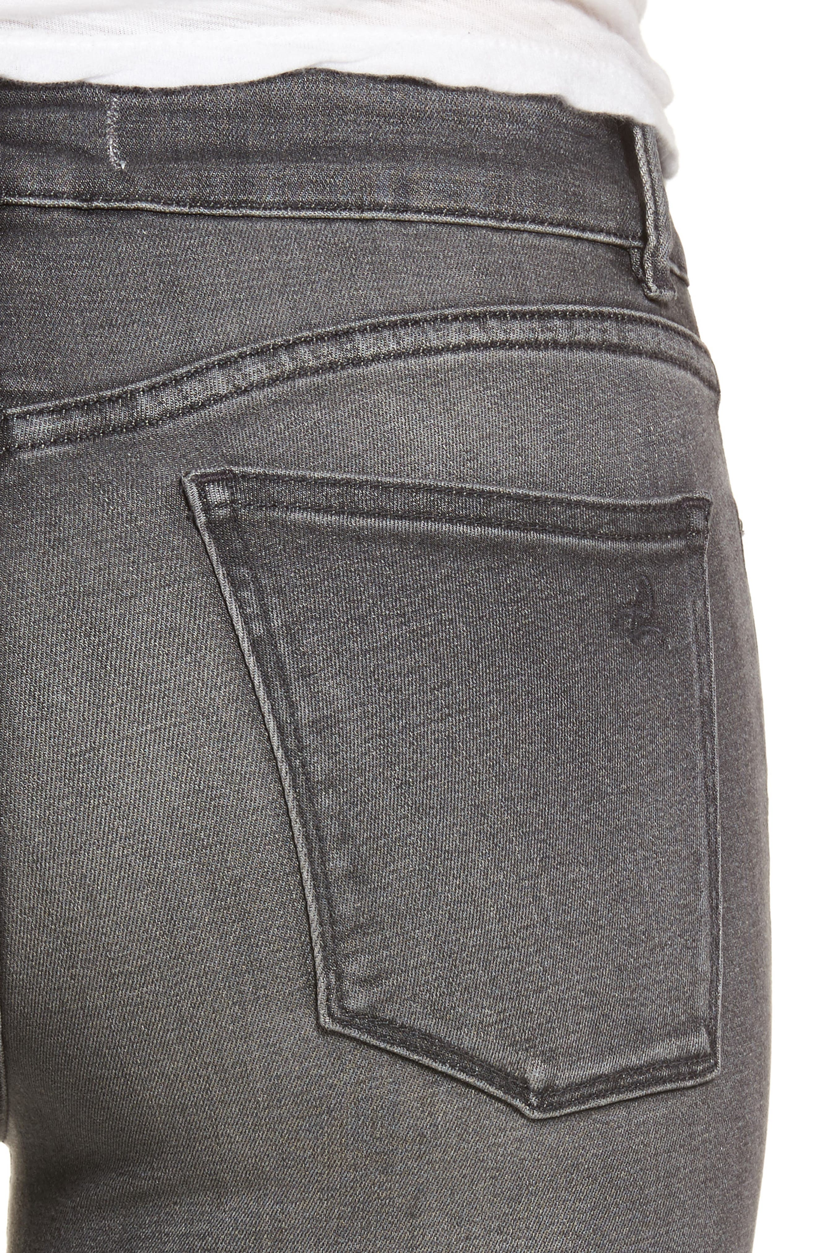 Alternate Image 4  - DL1961 Margaux Instasculpt Ankle Skinny Jeans (Drizzle)