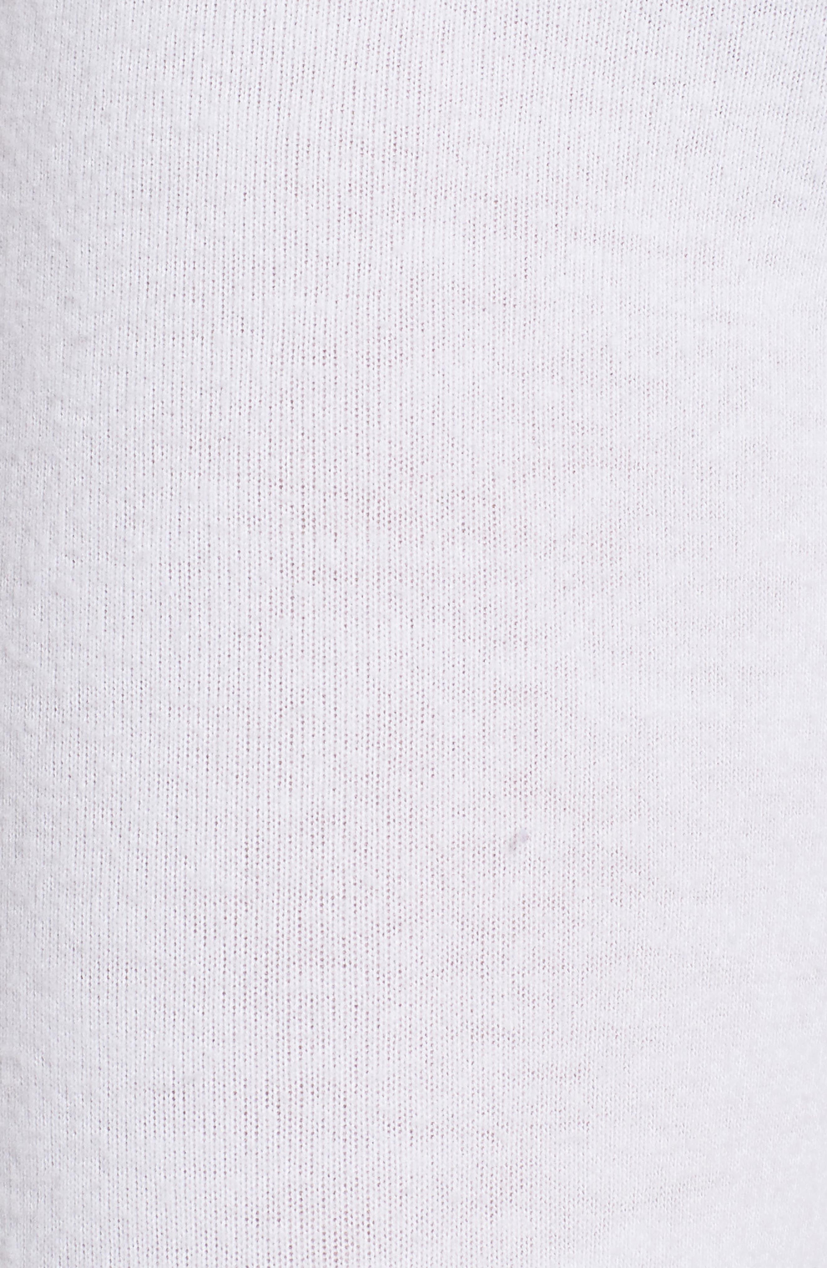 Peace Track Pants,                             Alternate thumbnail 6, color,                             White