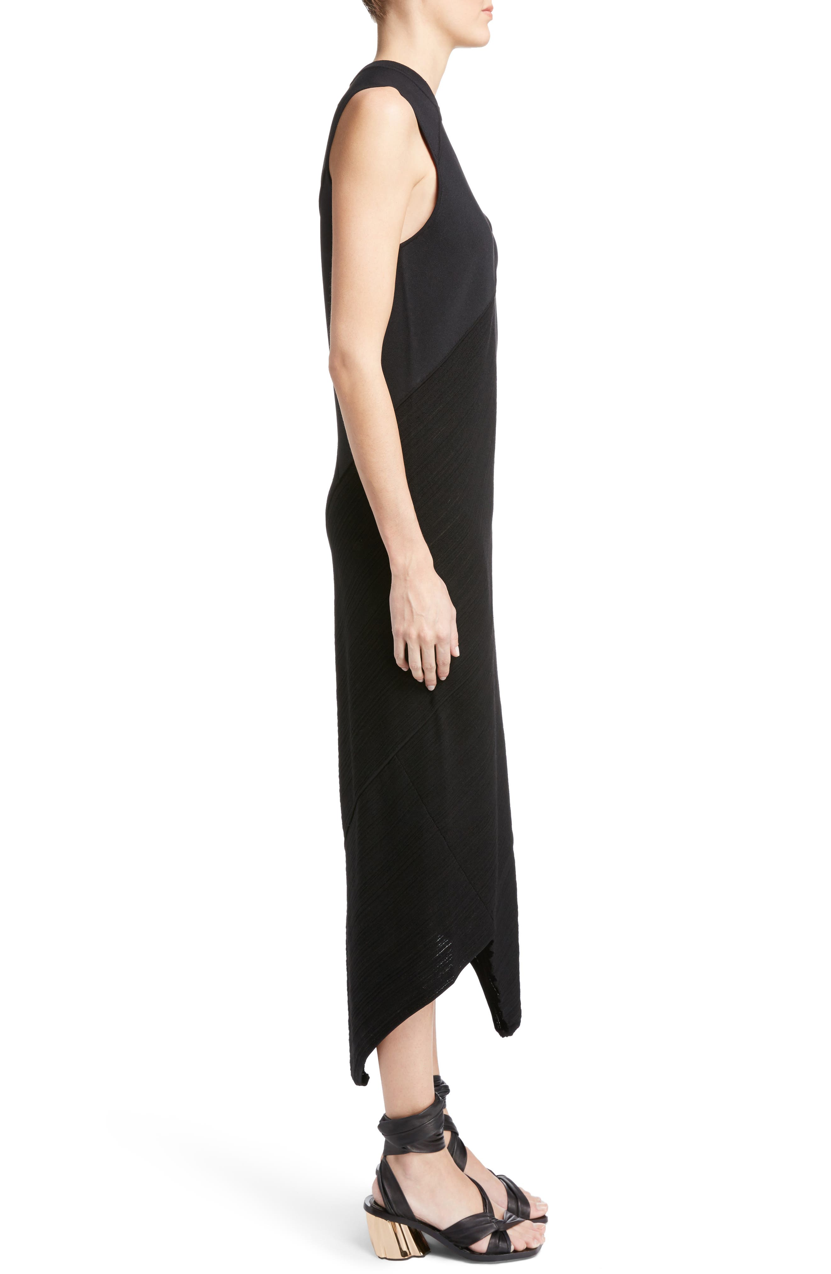 Alternate Image 3  - Proenza Schouler Asymmetrical Spiral Knit Dress