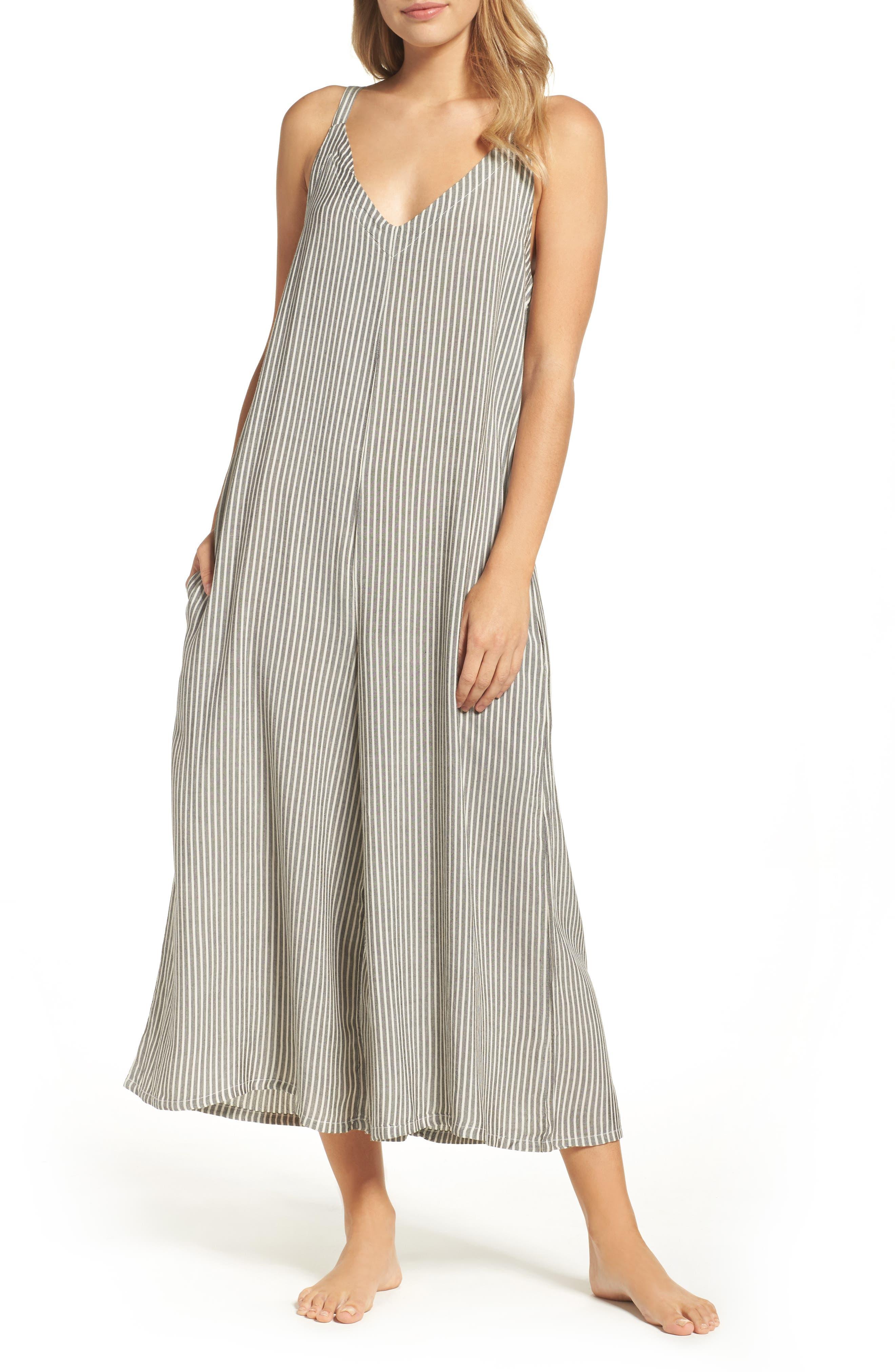 LACAUSA Stripe Jumpsuit