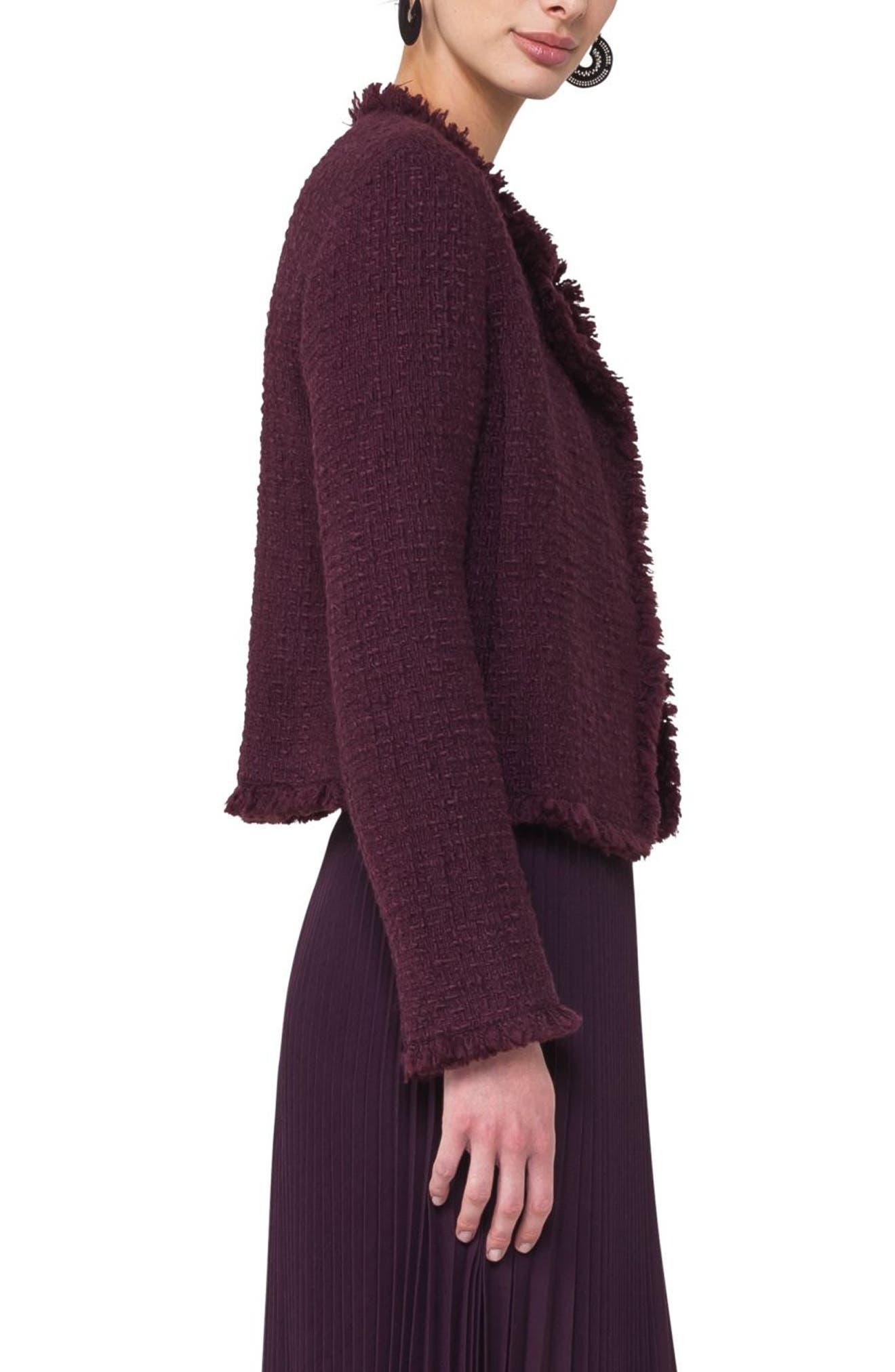 Alternate Image 3  - Akris punto Tweed Jacket