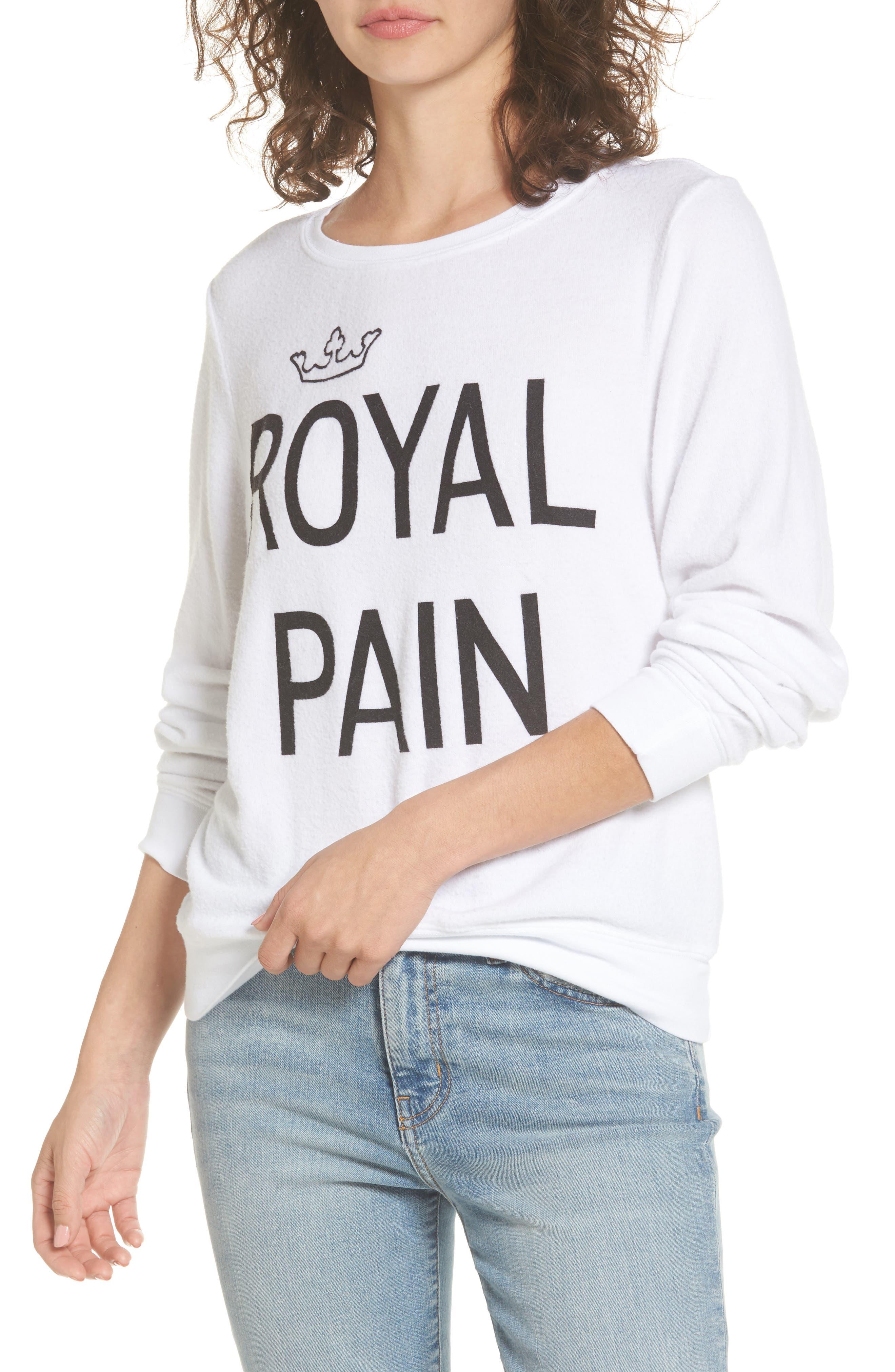 DREAM SCENE Royal Pain Sweatshirt