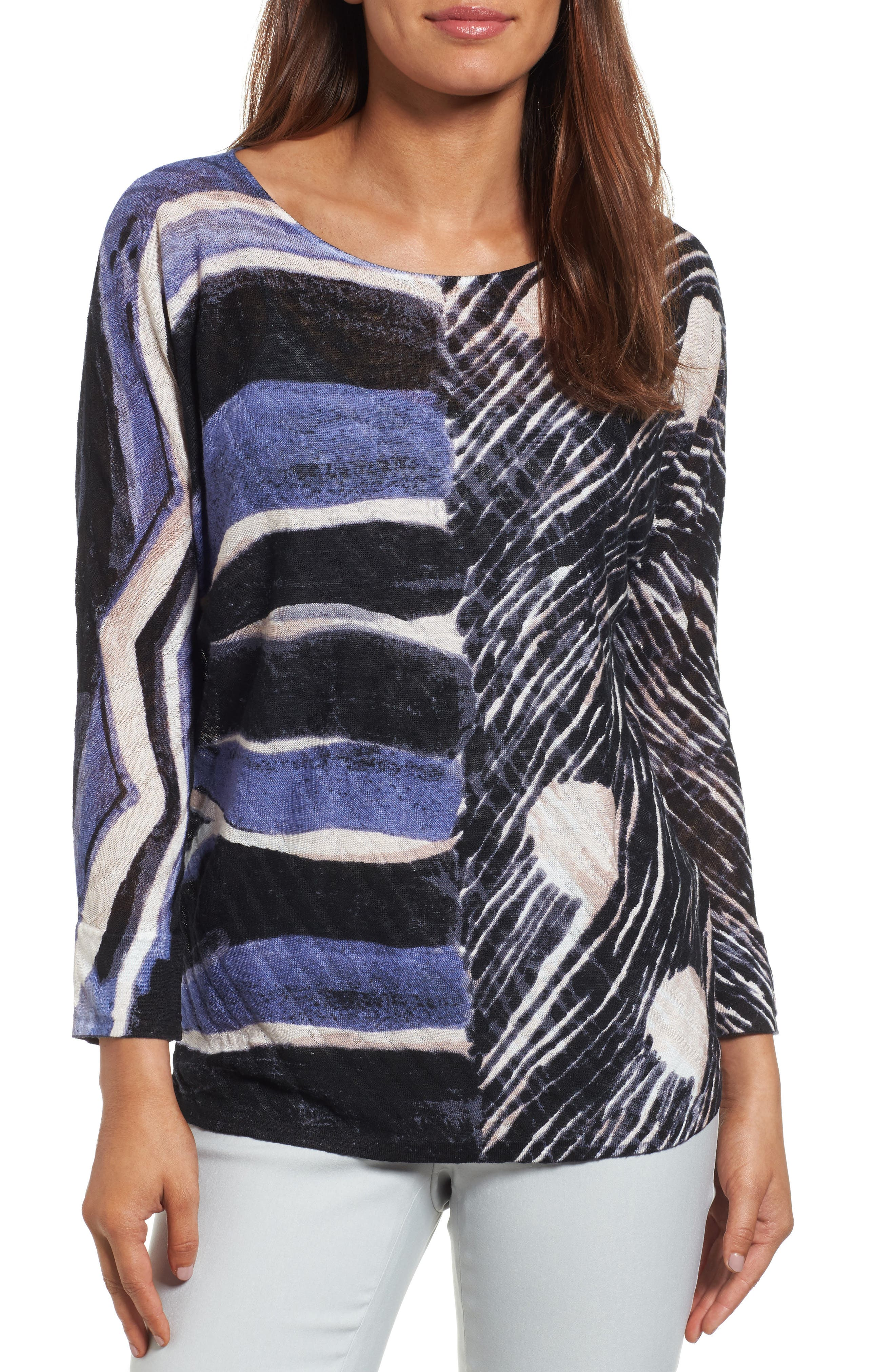 Alternate Image 1 Selected - NIC+ZOE Sierra Sweater (Regular & Petite)
