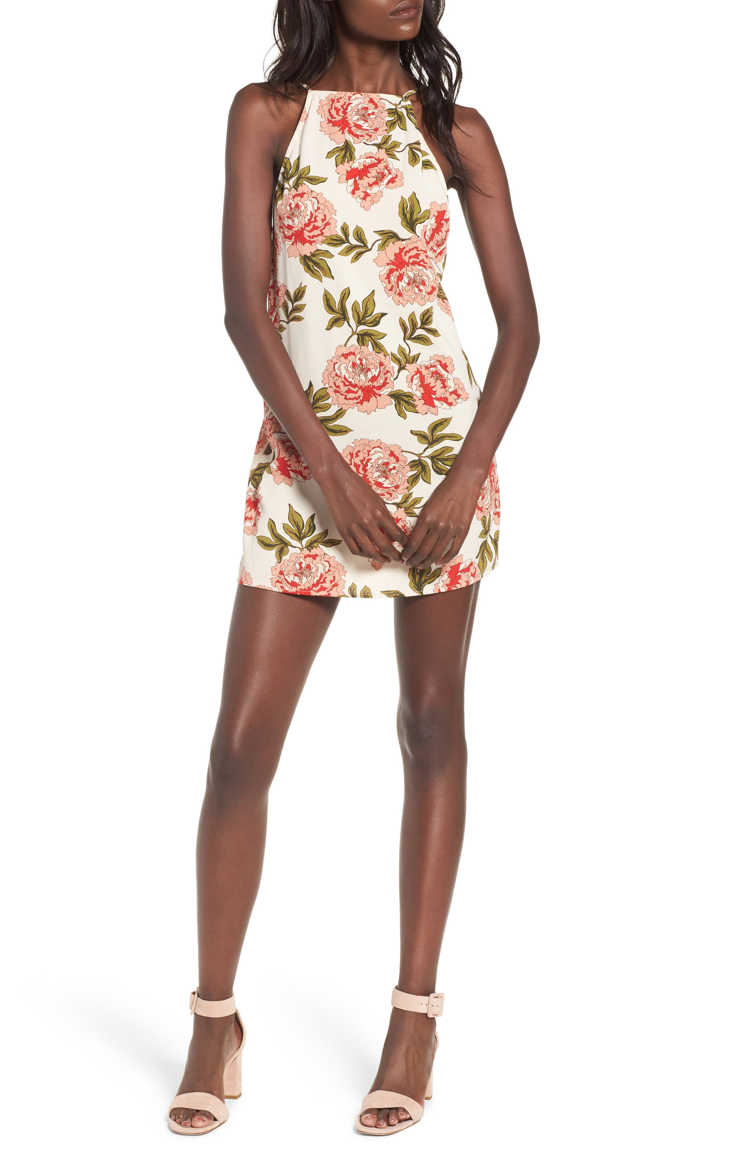 Traveler Minidress,                         Main,                         color, Cora Louise