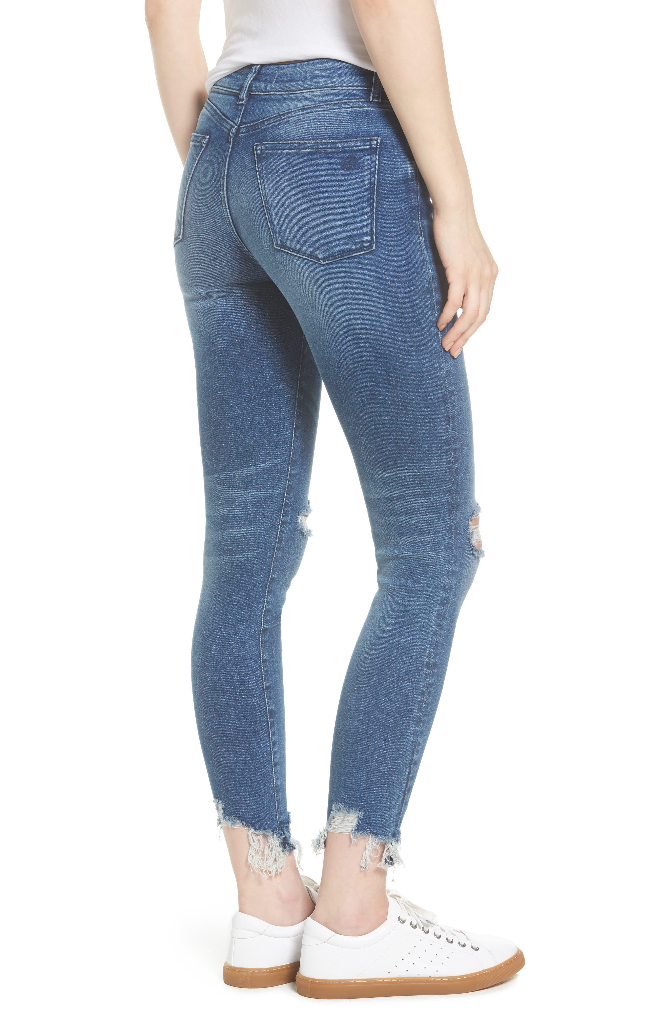 Farrow Instaslim High Waist Ankle Skinny Jeans,                             Alternate thumbnail 2, color,                             Laramie