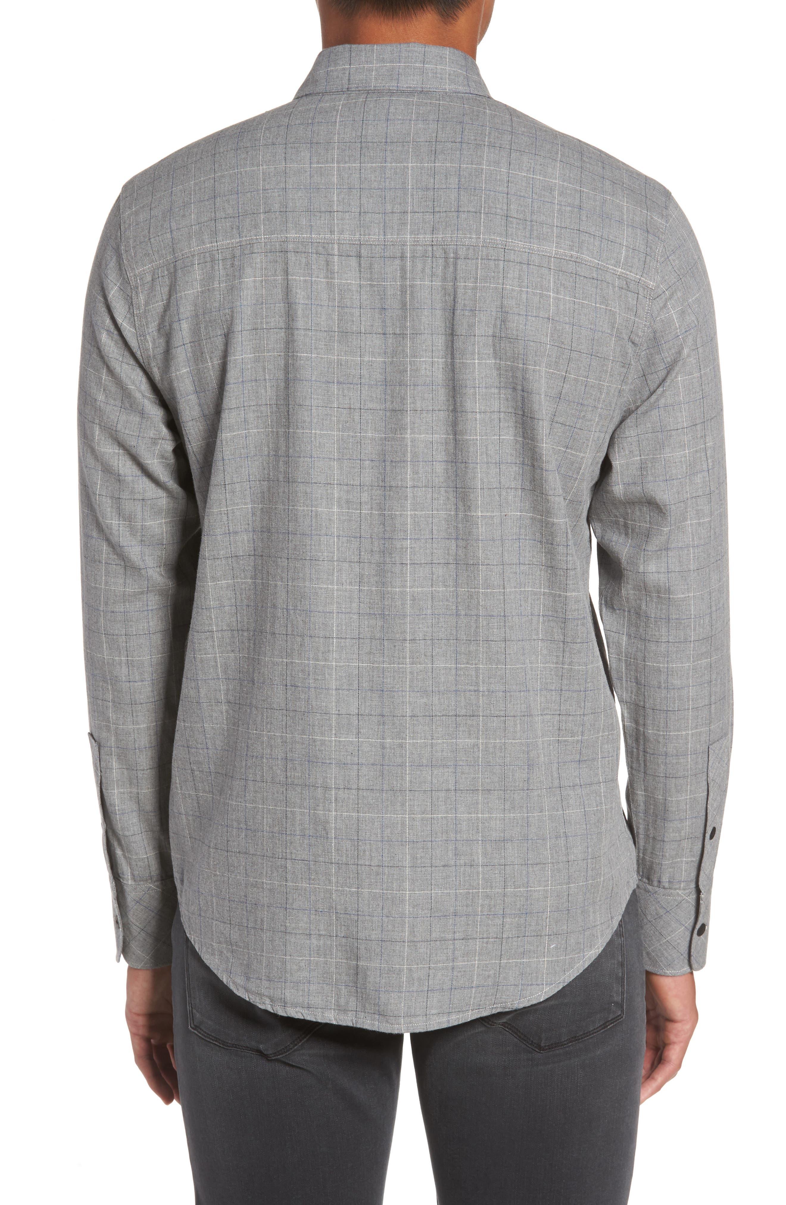 Alternate Image 2  - PAIGE Everett Tattersall Sport Shirt