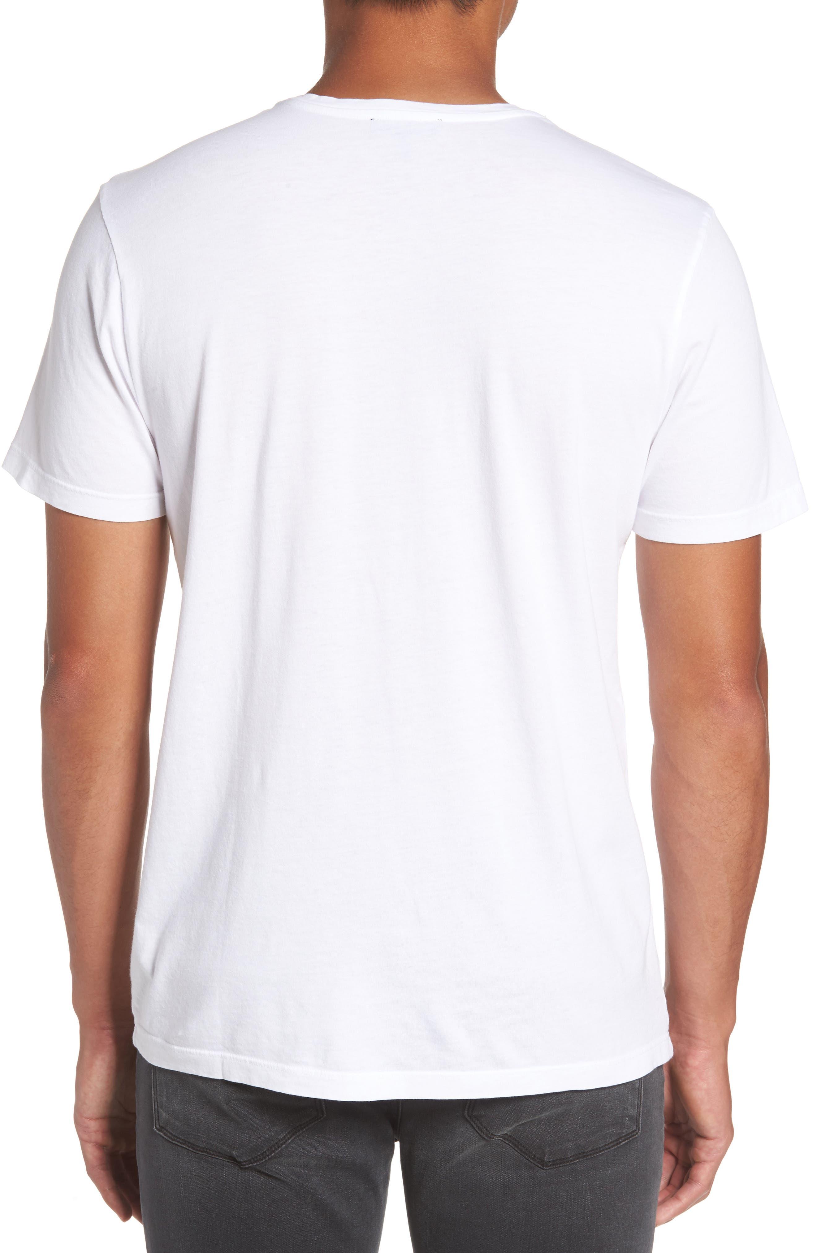 Alternate Image 2  - PAIGE Cash Crewneck T-Shirt
