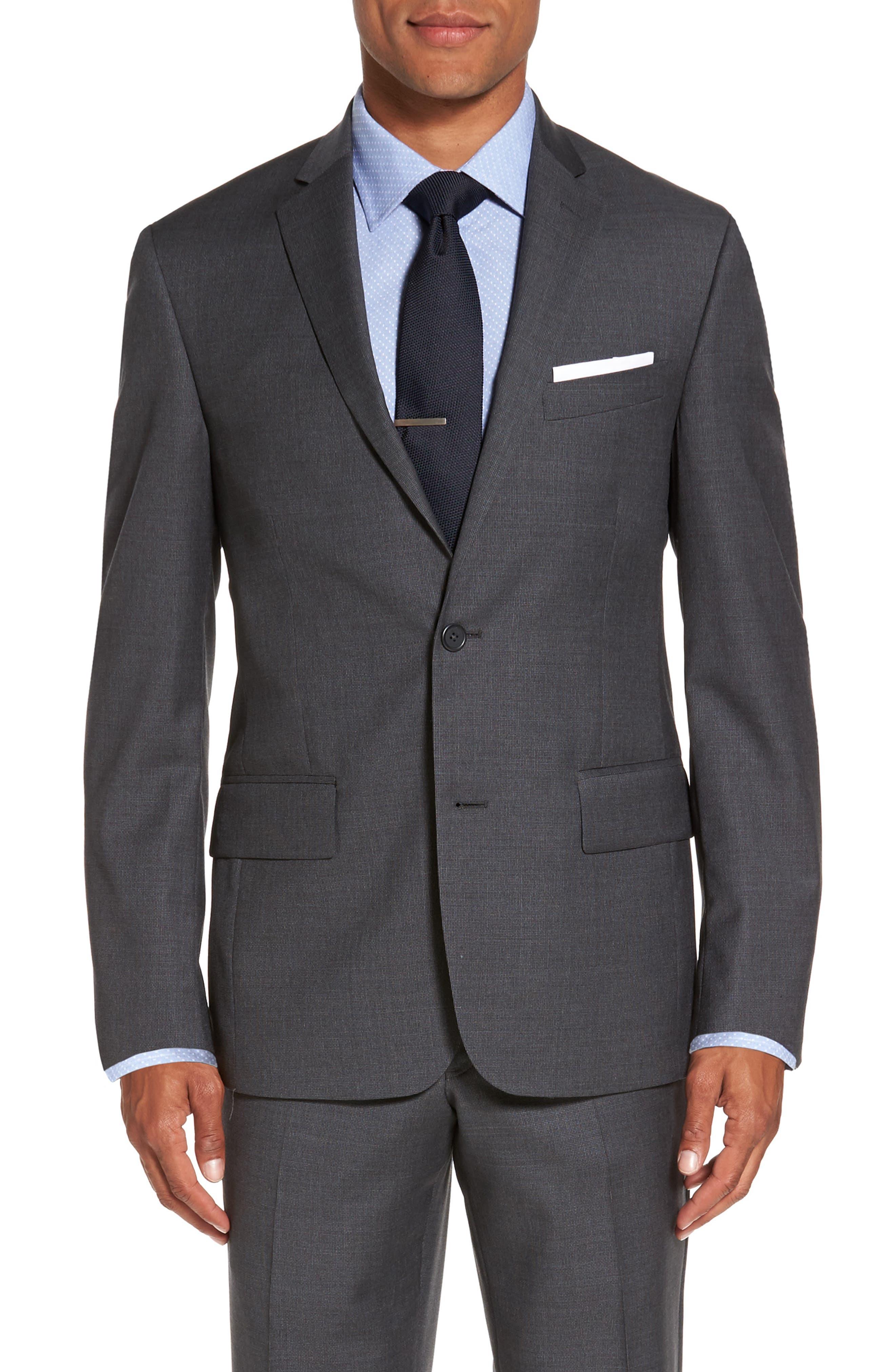 Nordstrom Men's Shop Classic Fit Solid Wool Suit