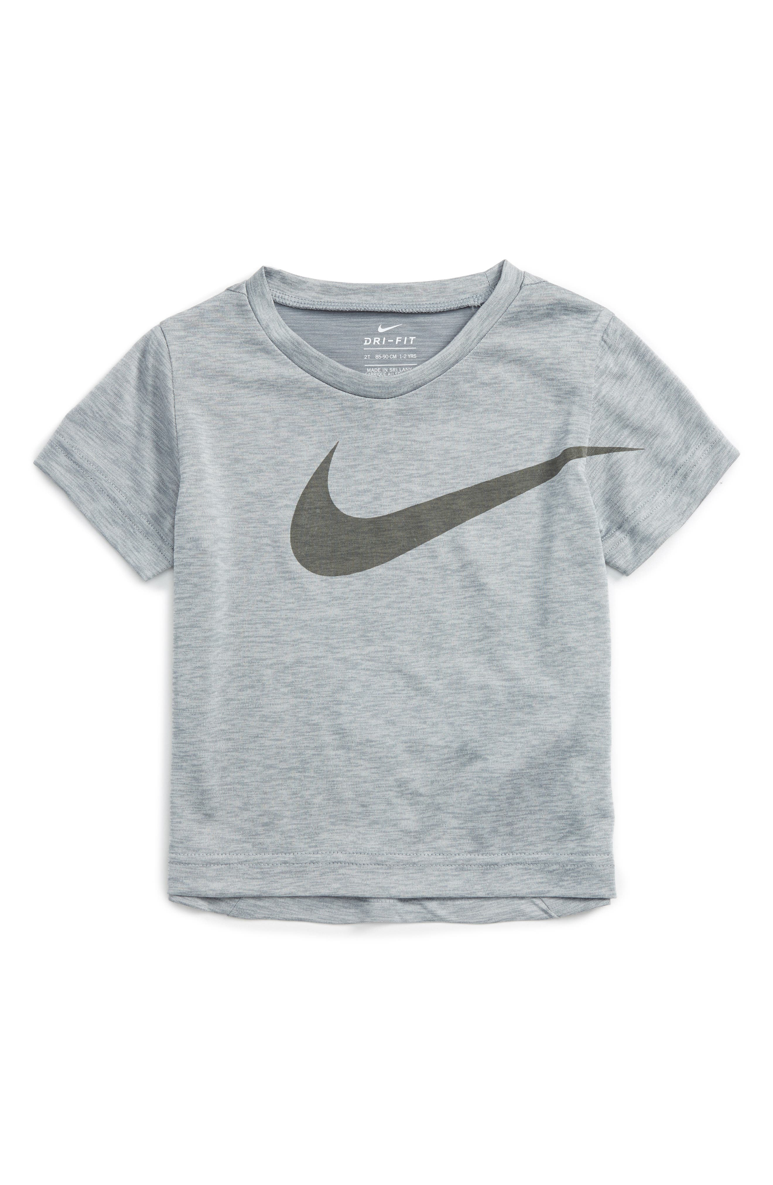 Dri-FIT T-Shirt,                         Main,                         color, Metallic Silver