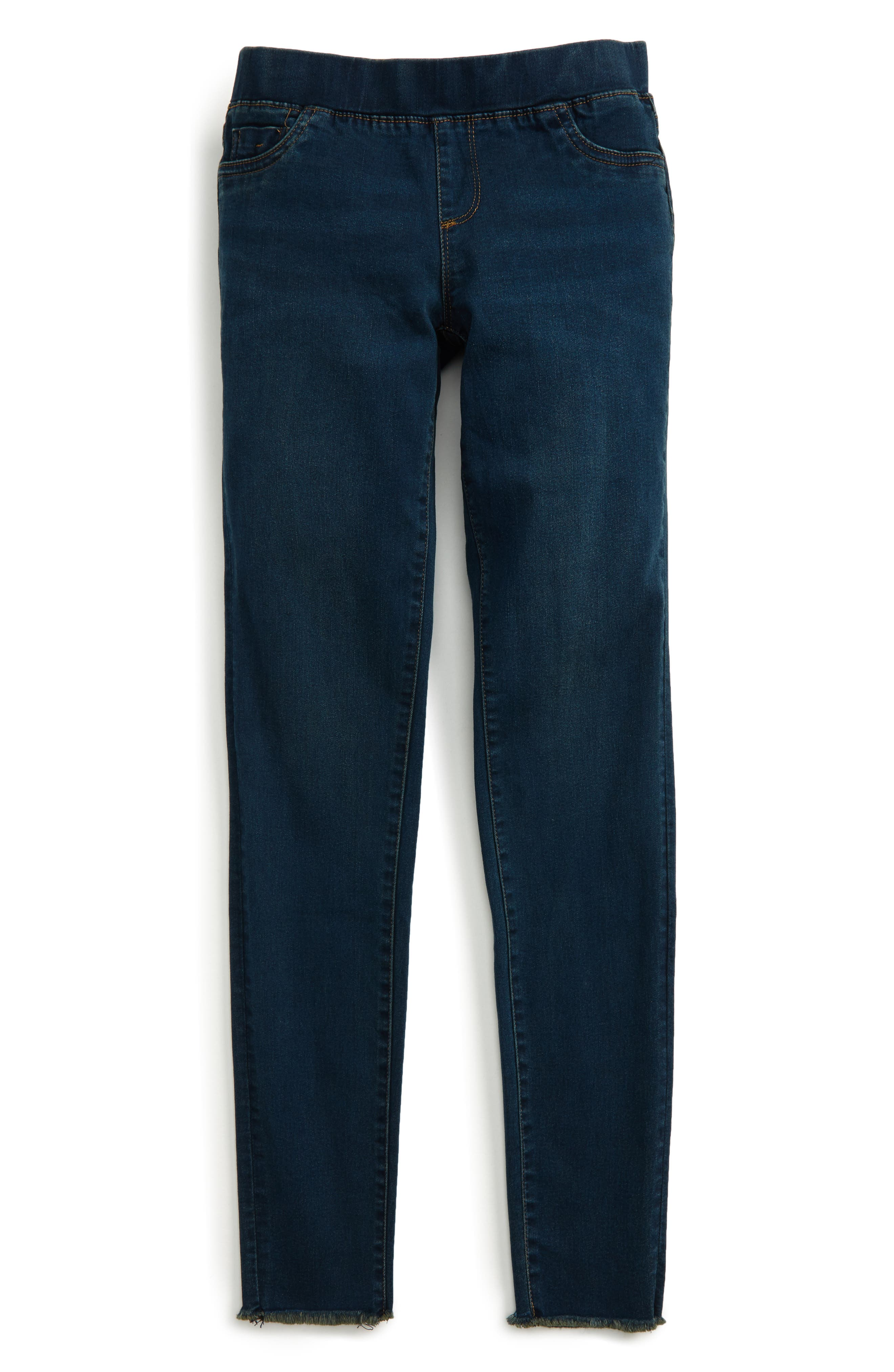 Pull-On Jeggings,                         Main,                         color, Indigo
