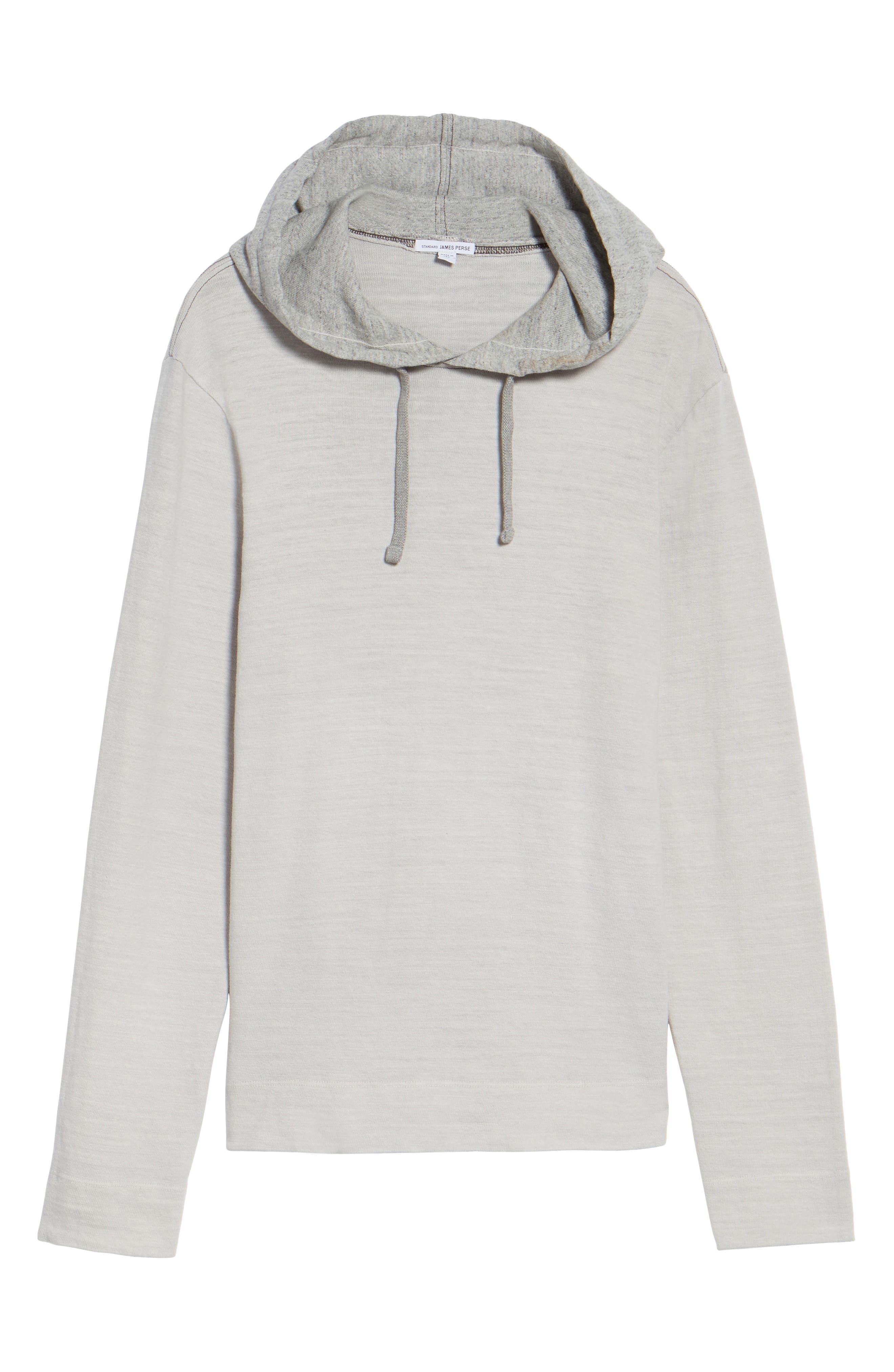 Alternate Image 6  - James Perse Standard Fit Pullover Hoodie