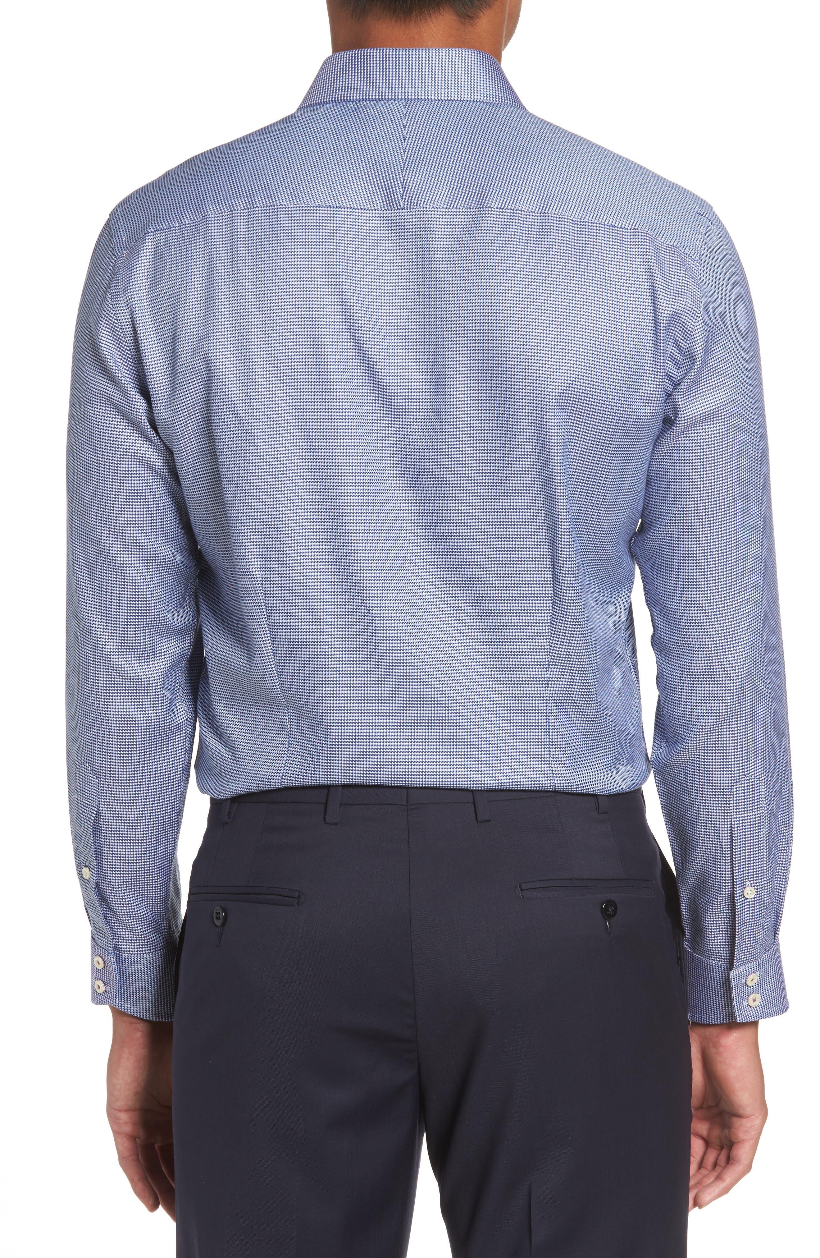 Alternate Image 3  - Ted Baker London Chimy Trim Fit Geometric Dress Shirt