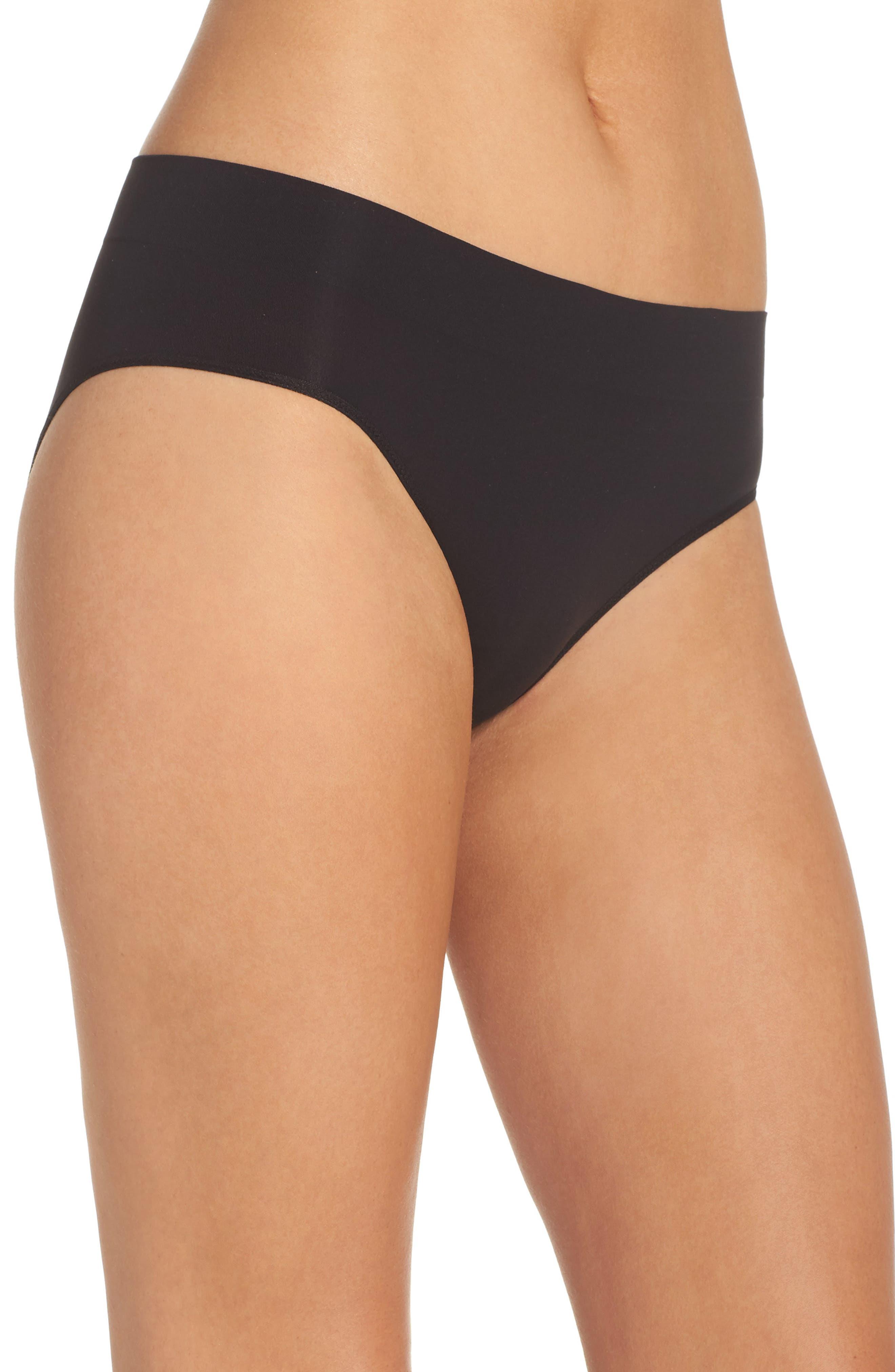 Alternate Image 3  - DKNY LiteWear Seamless Bikini (3 for $33)