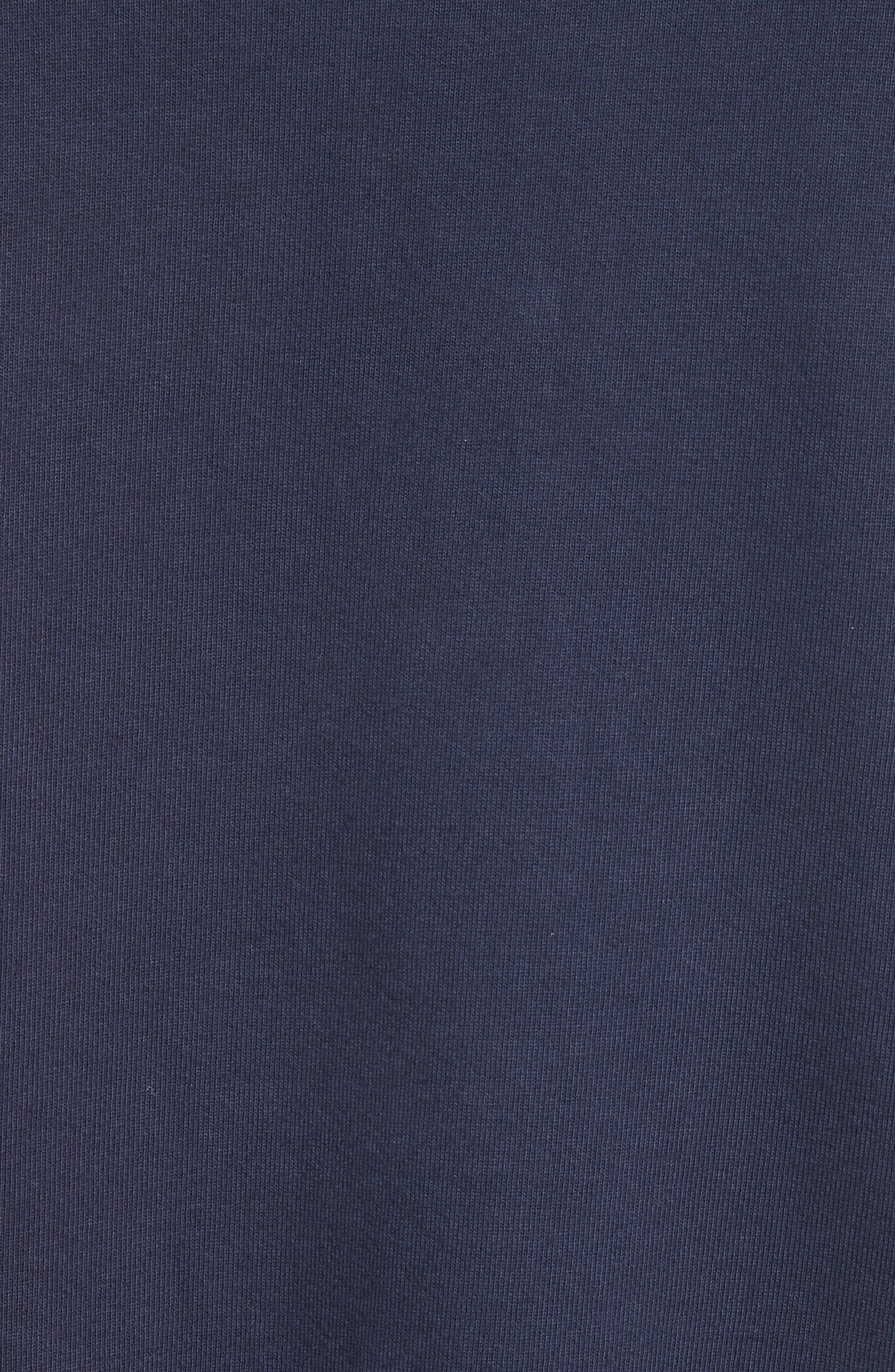 Alternate Image 5  - Drifter Galeras Velvet Sleeve Sweatshirt