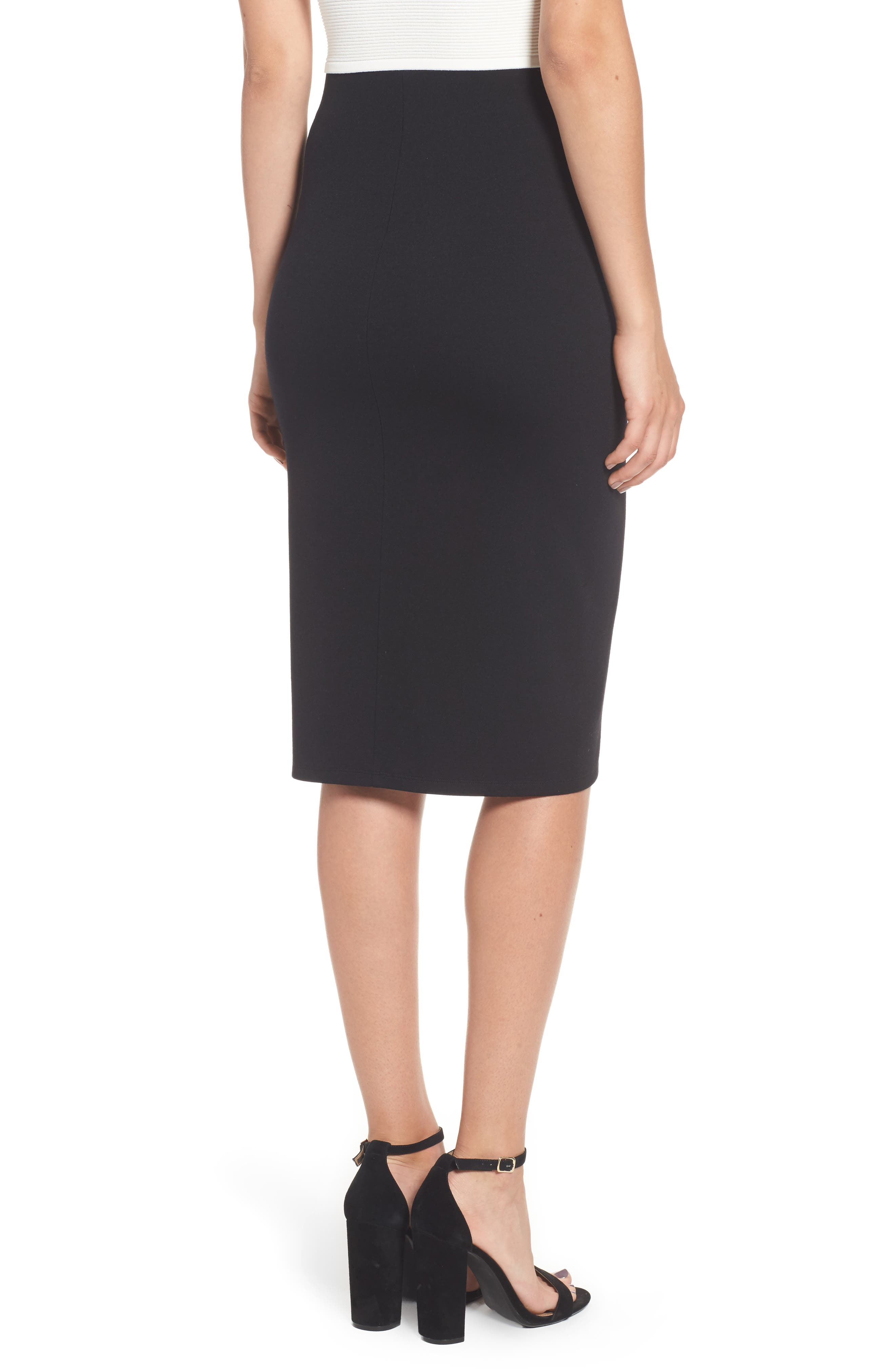 Alternate Image 2  - Leith Ponte Skirt