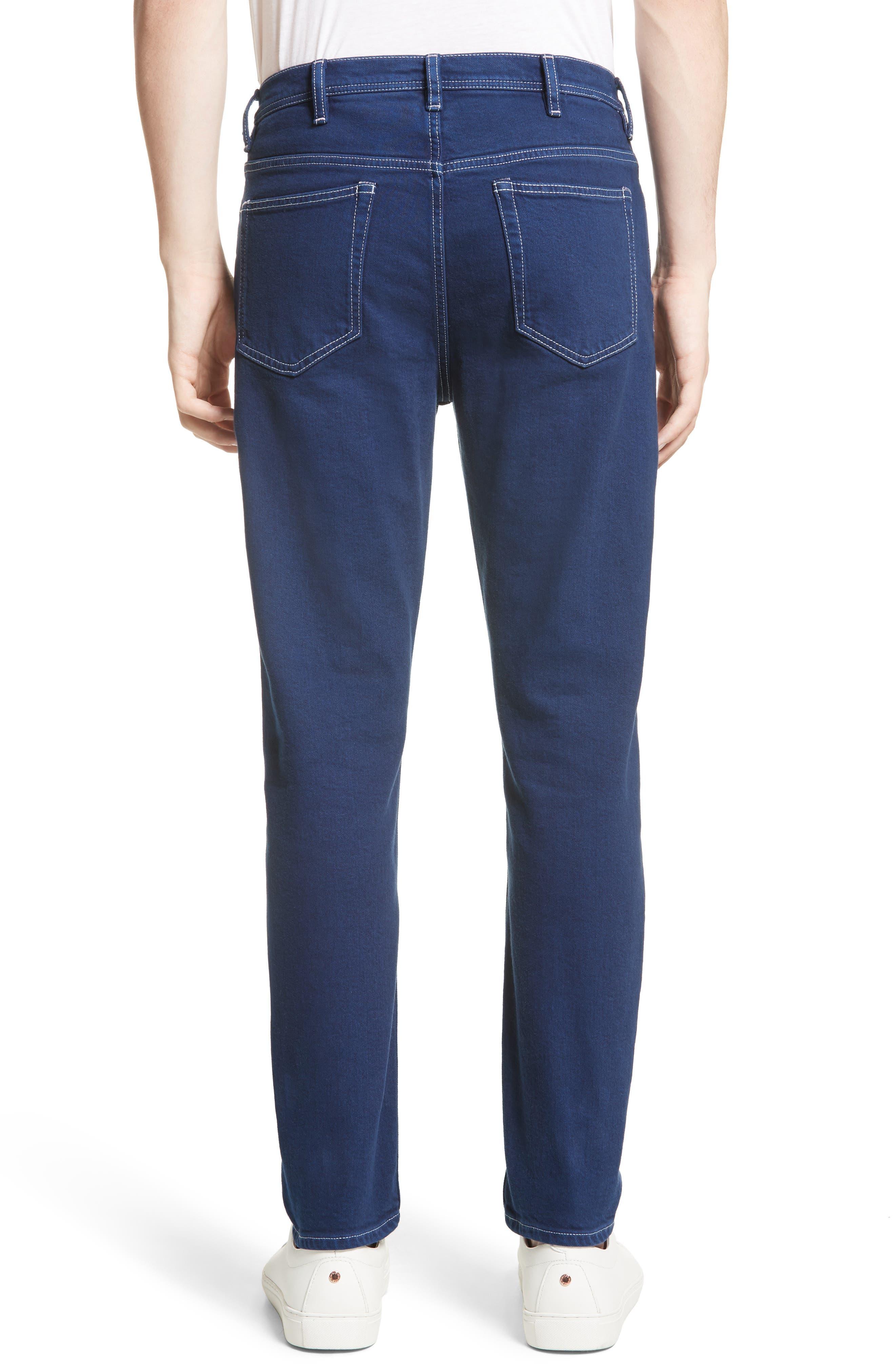 Alternate Image 2  - ACNE Studios River Slim Tapered Fit Jeans (Cobalt)