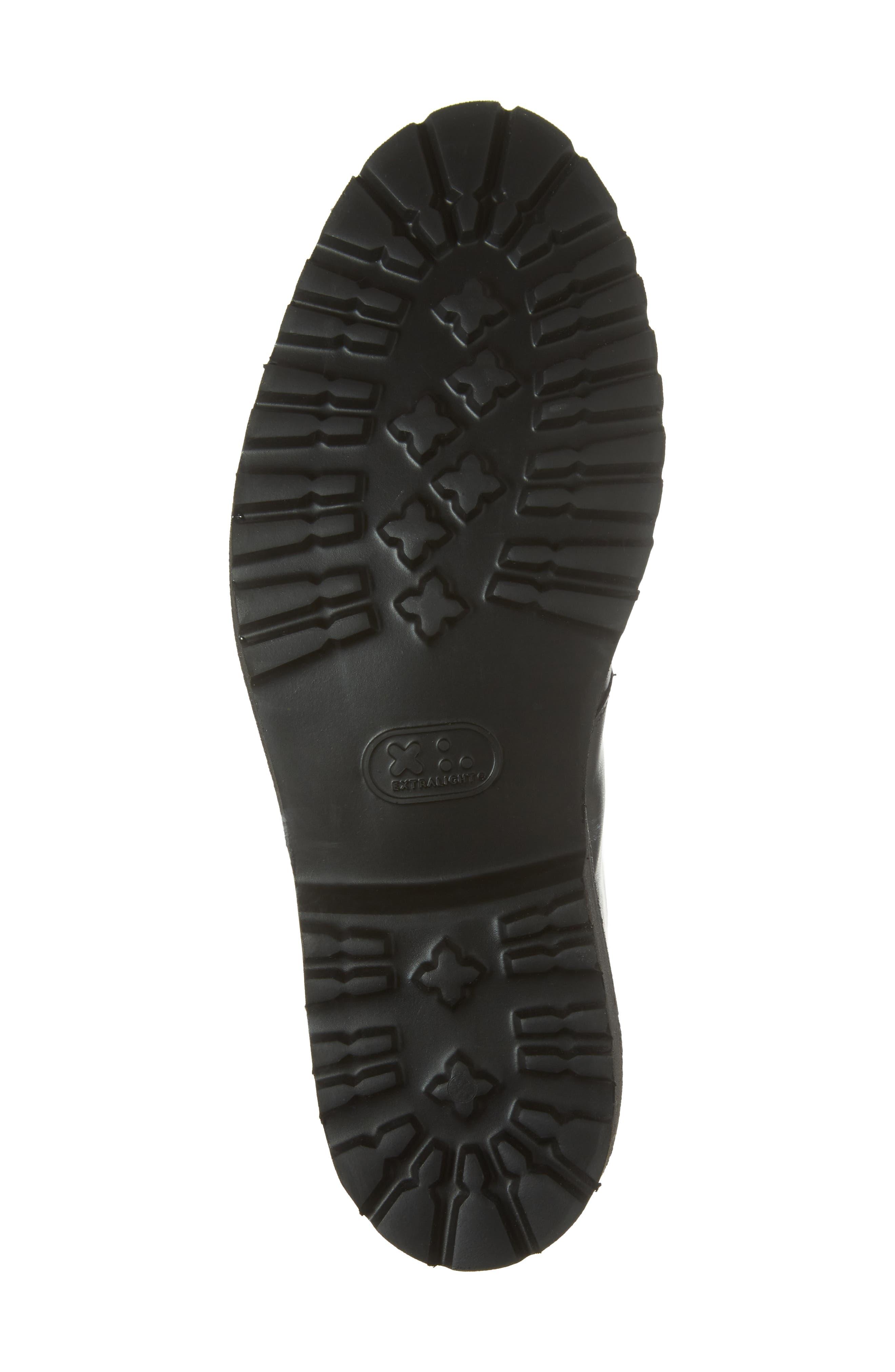 Tate Chukka Boot,                             Alternate thumbnail 6, color,                             Black Leather