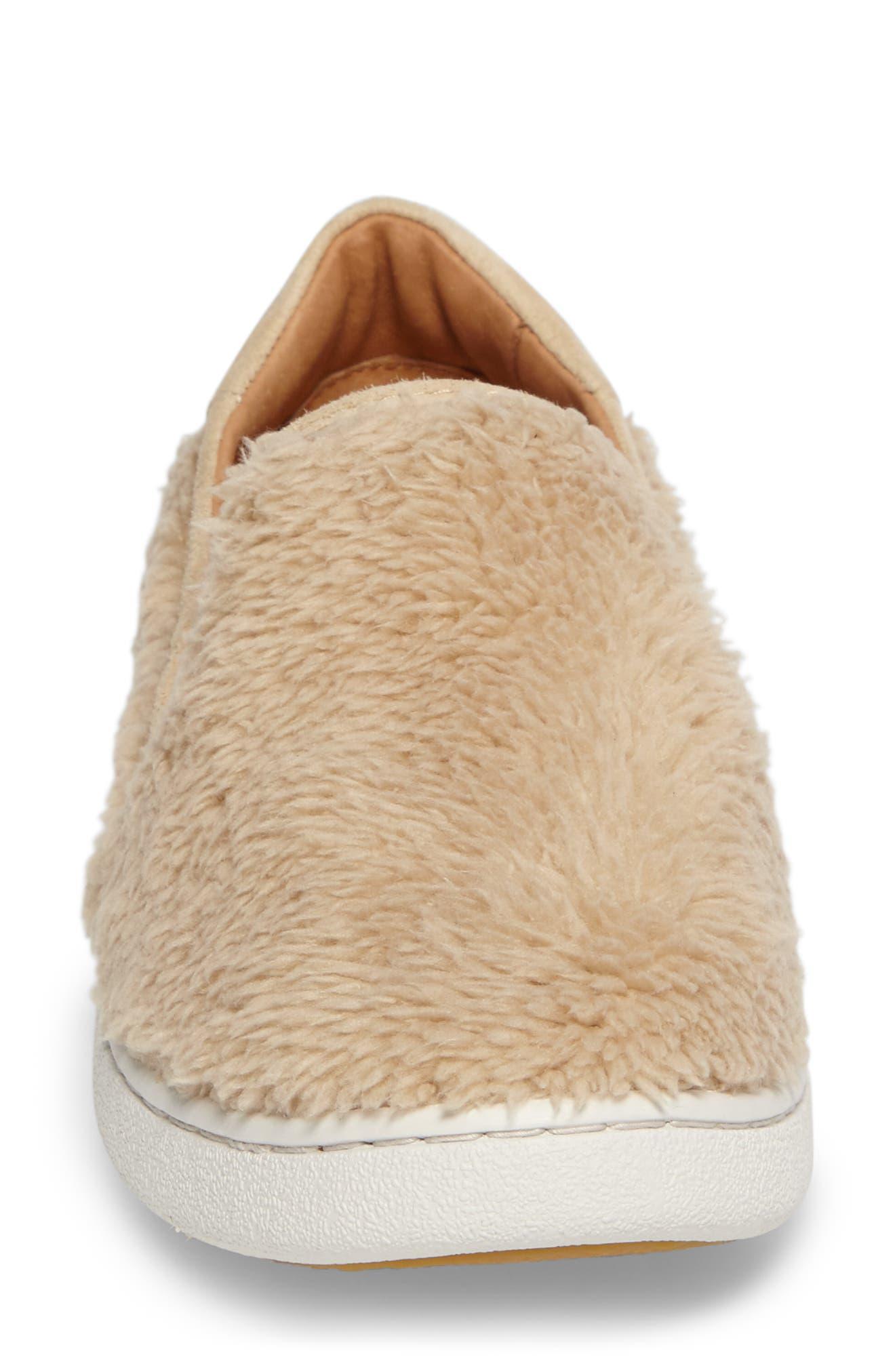 Alternate Image 4  - UGG® Ricci Plush Slip-On Sneaker (Women)