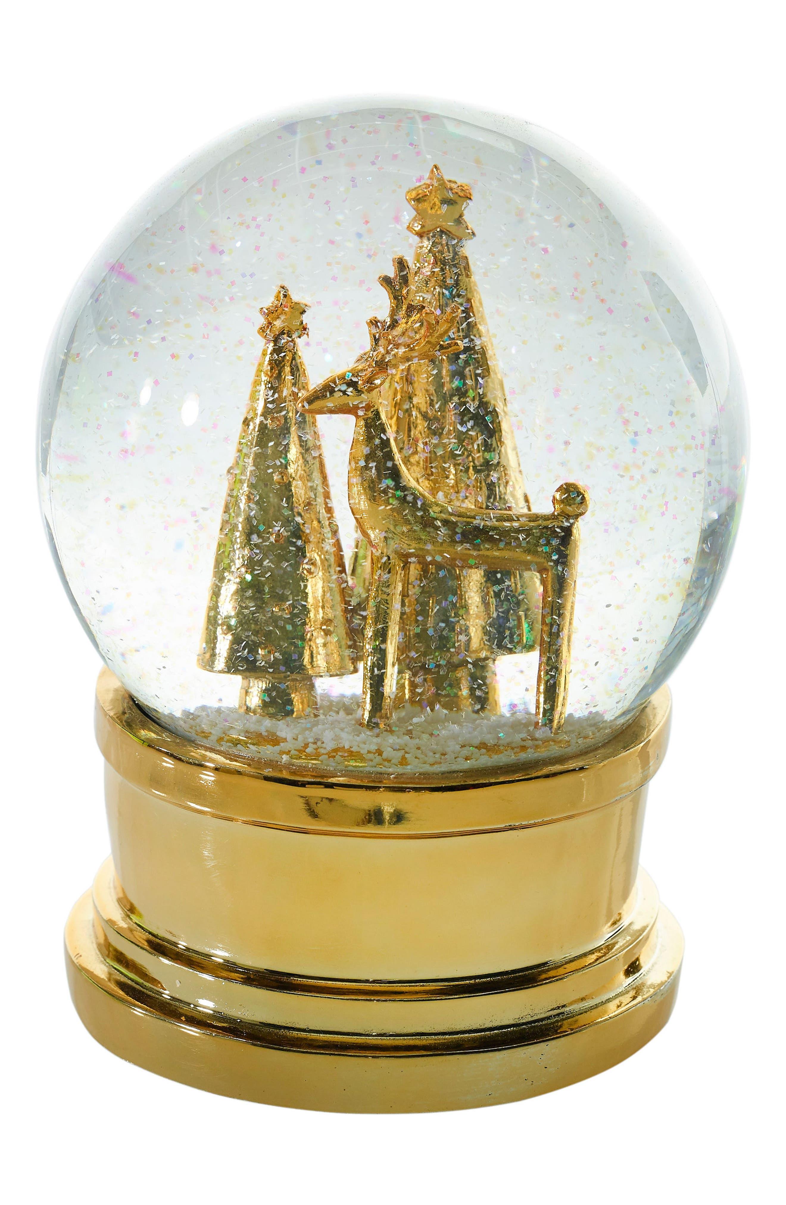 Snow Globe,                         Main,                         color, Gold