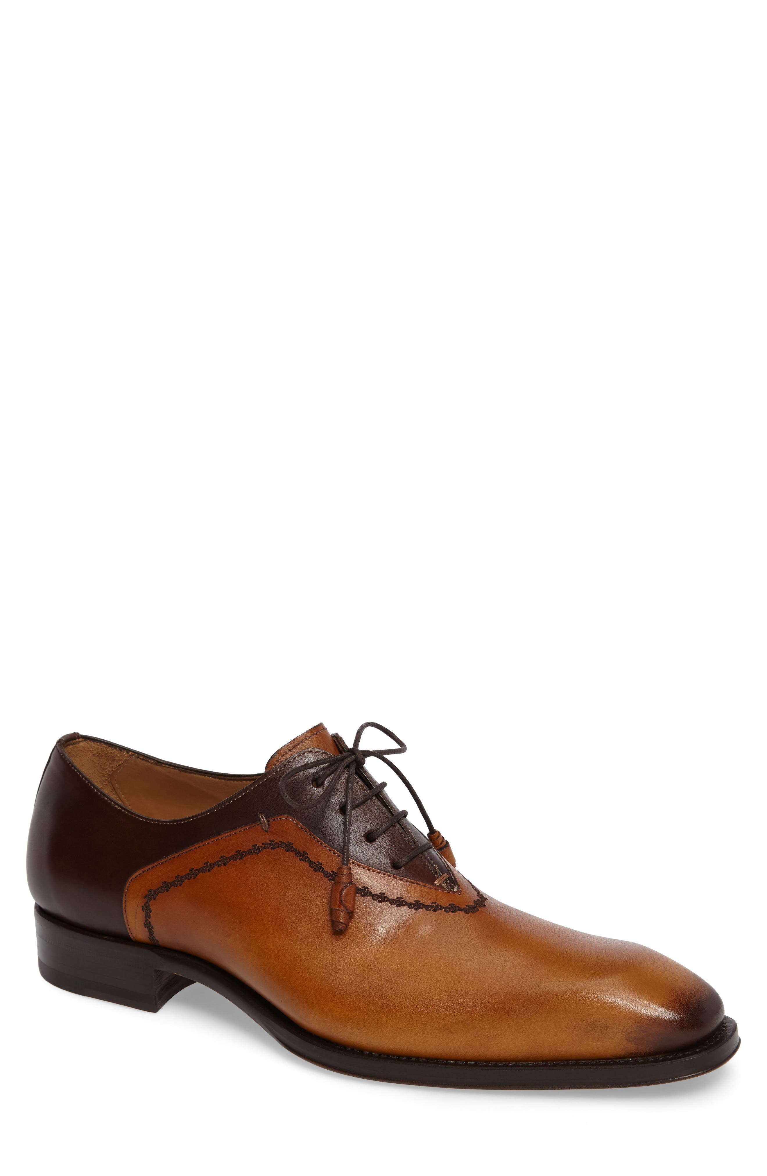 Main Image - Mezlan Manet Plain-Toe Oxford (Men)