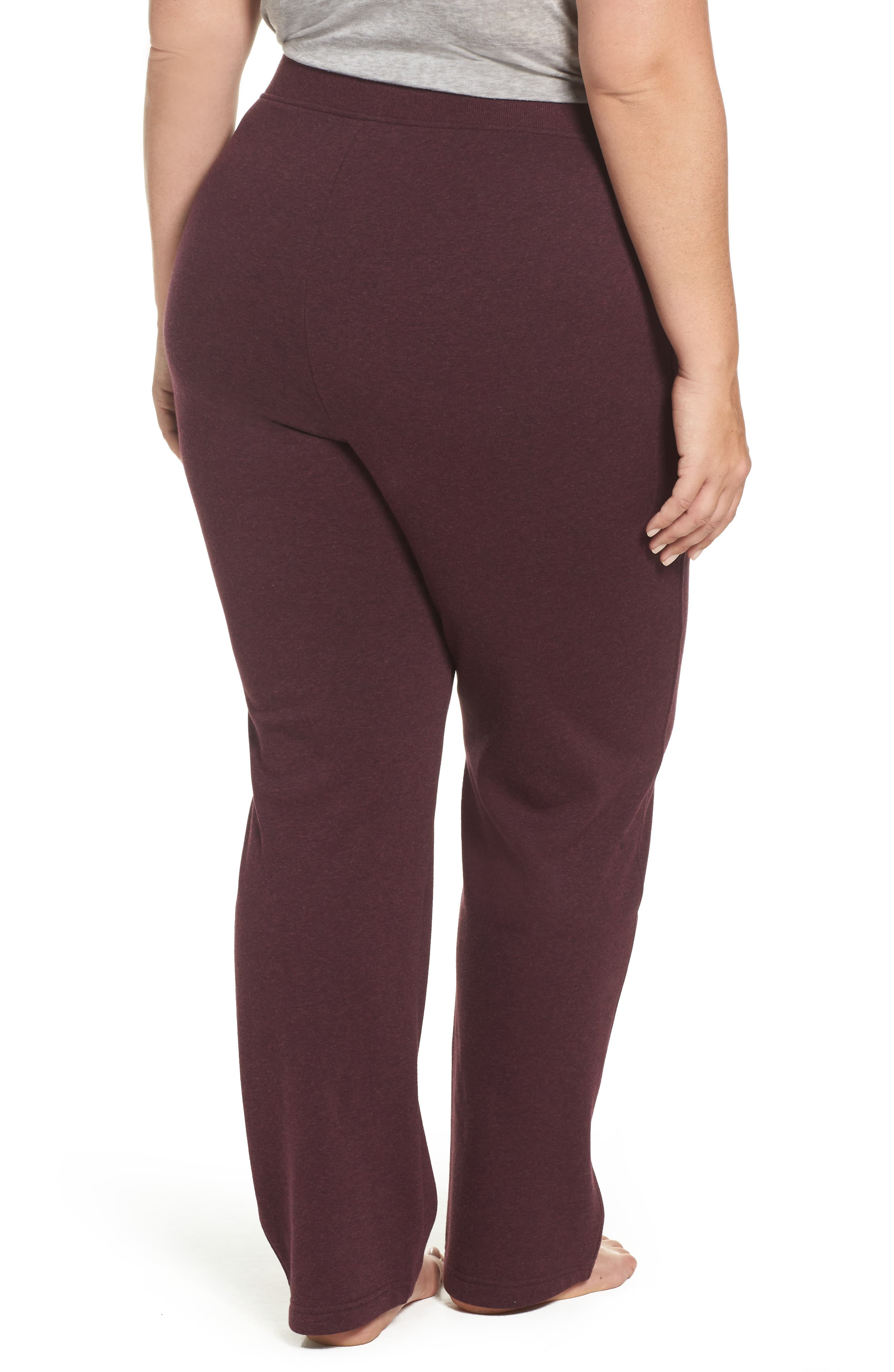 Alternate Image 2  - UGG® Penny Fleece Sweatpants (Plus Size)