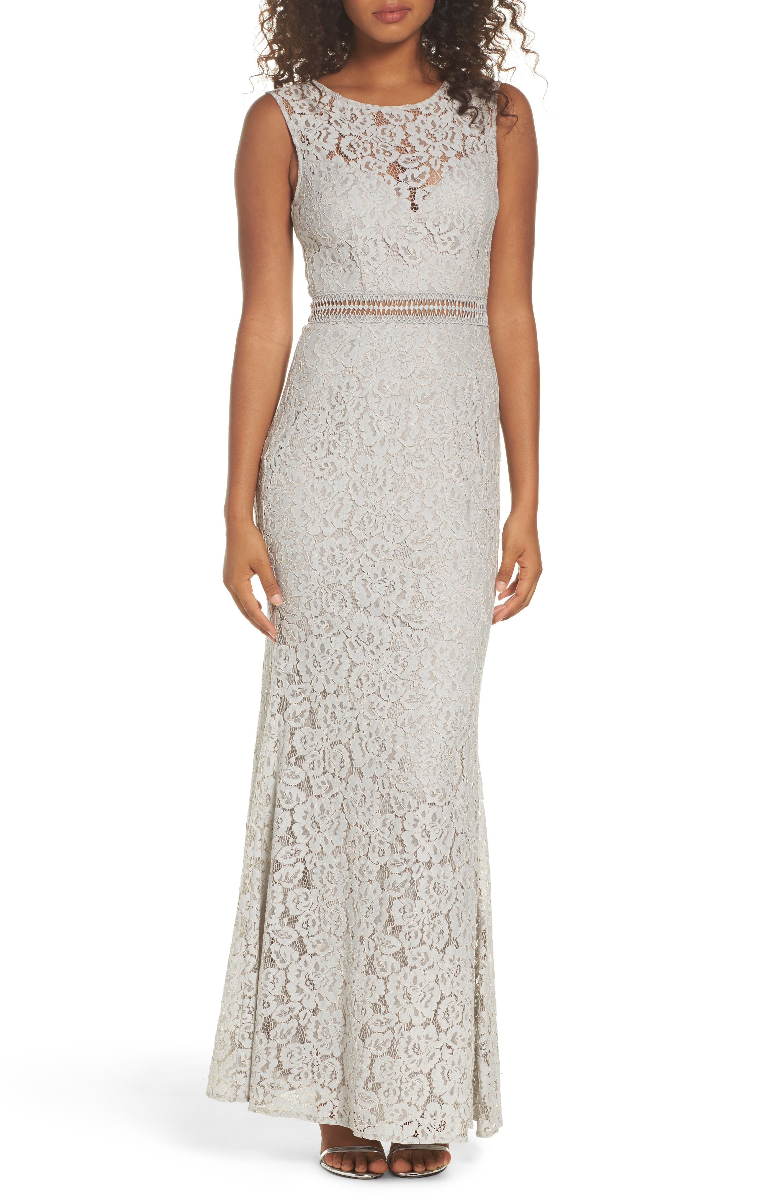 Lulus Music of the Heart Lace Maxi Dress