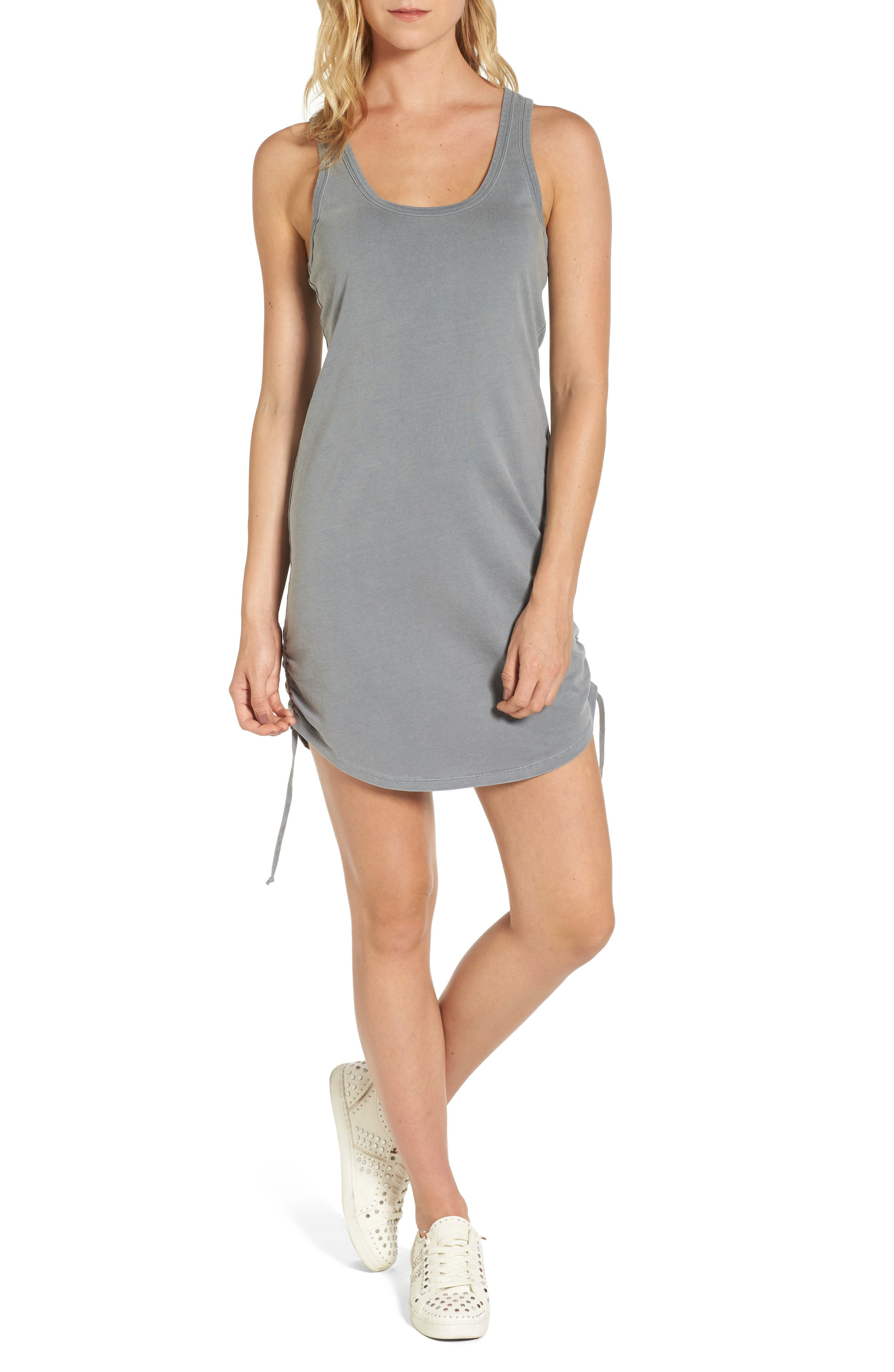 Pam & Gela Ruched Tank Dress
