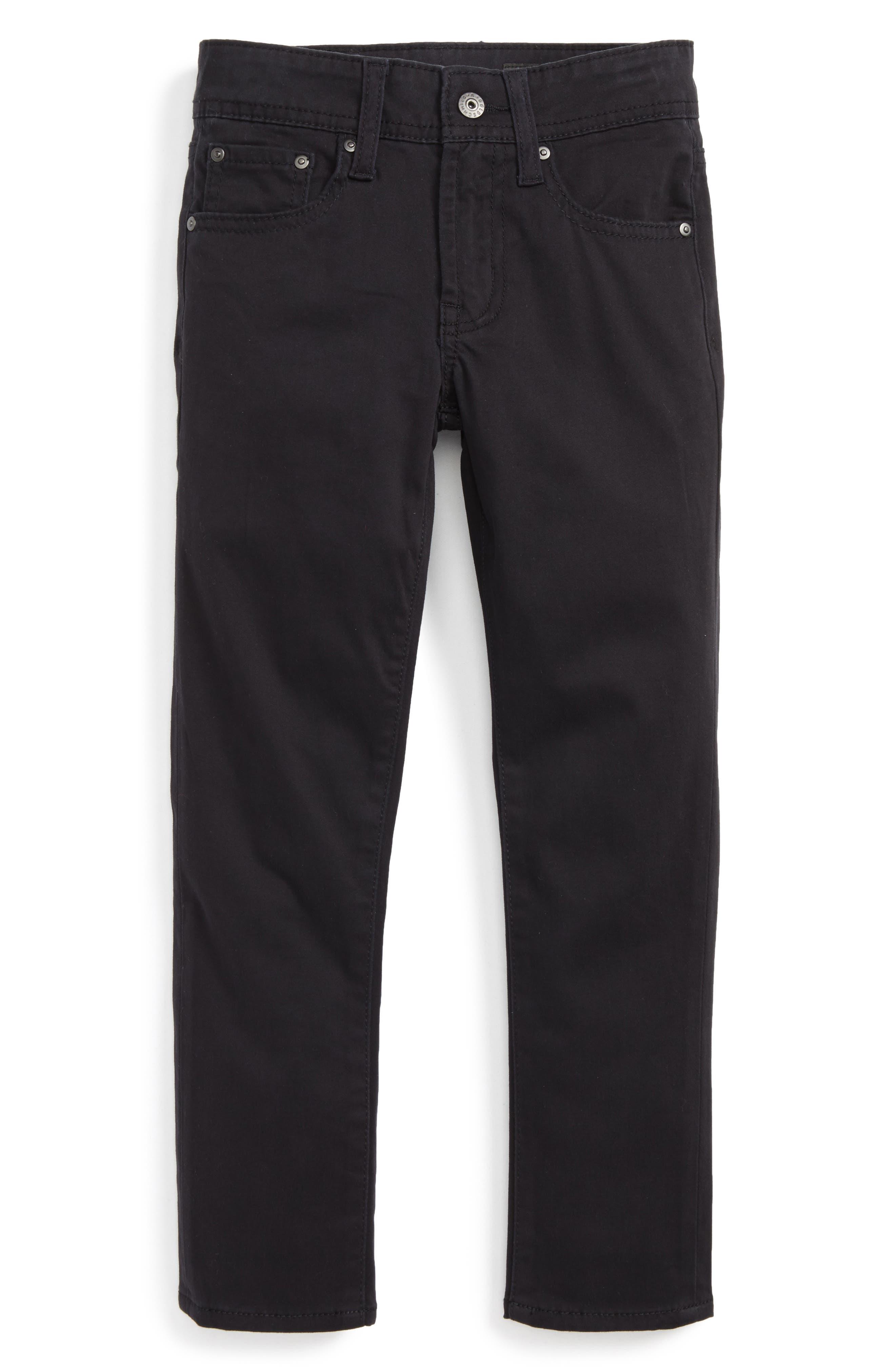 AG ADRIANO GOLDSCHMIED KIDS The Stryker Luxe Slim Straight Leg Jeans