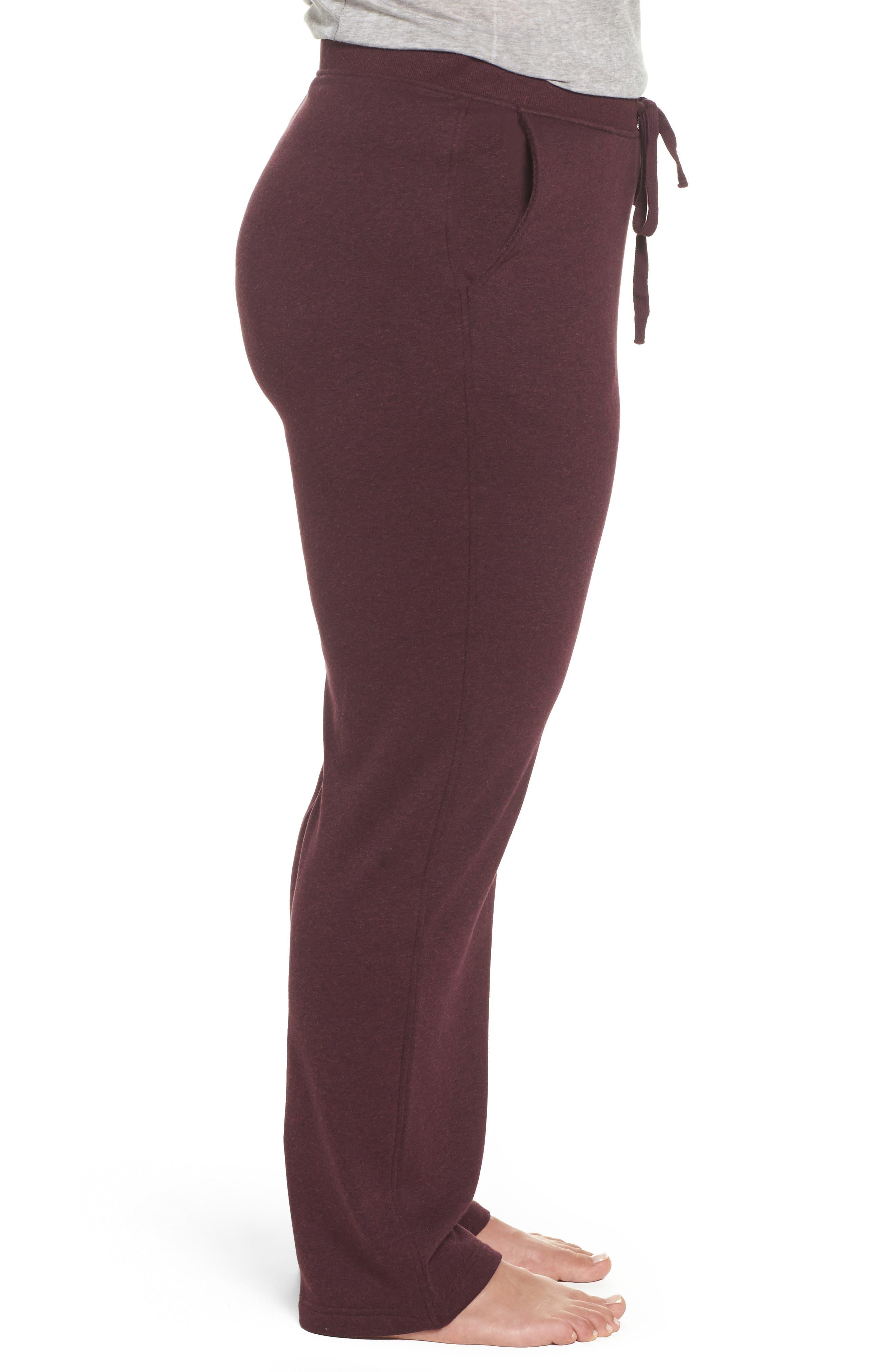 Alternate Image 3  - UGG® Penny Fleece Sweatpants (Plus Size)