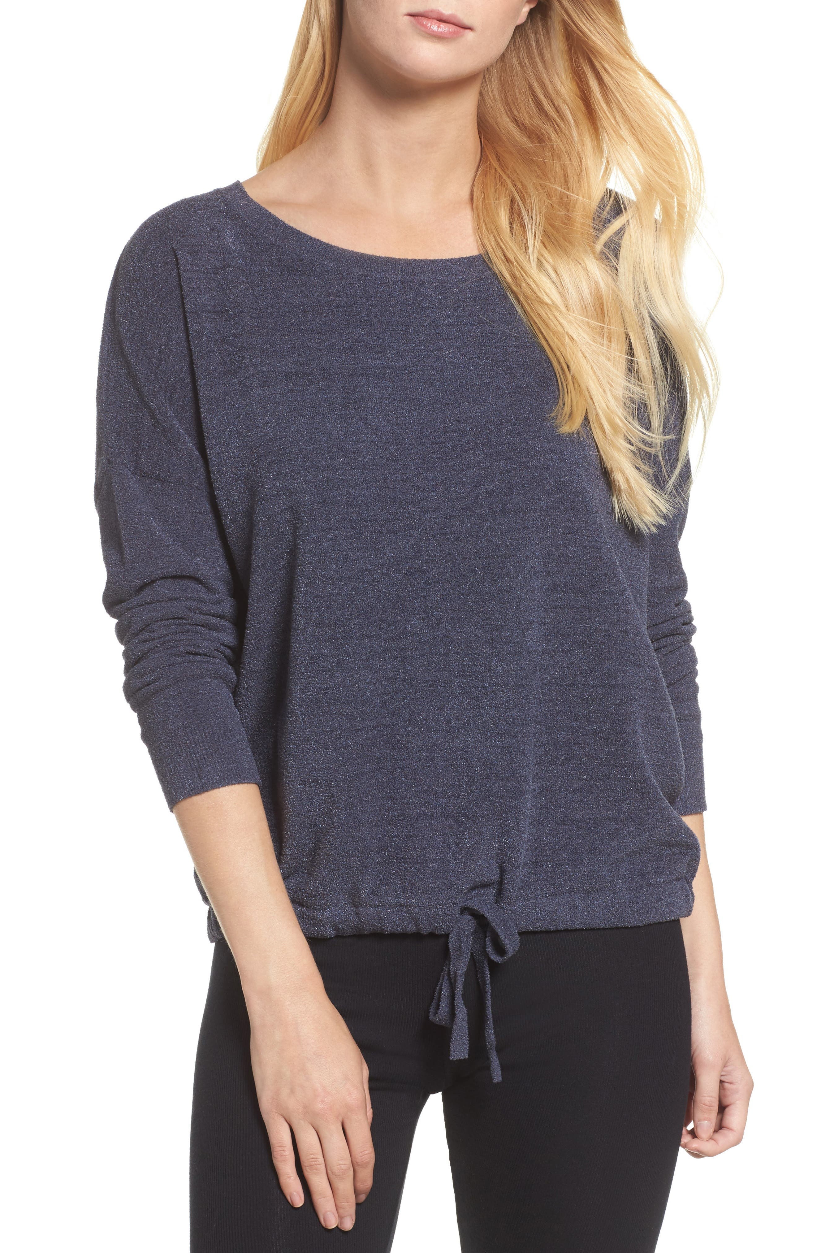 Cozychic Ultra Lite<sup>®</sup> Lounge Pullover,                         Main,                         color, Pacific Blue