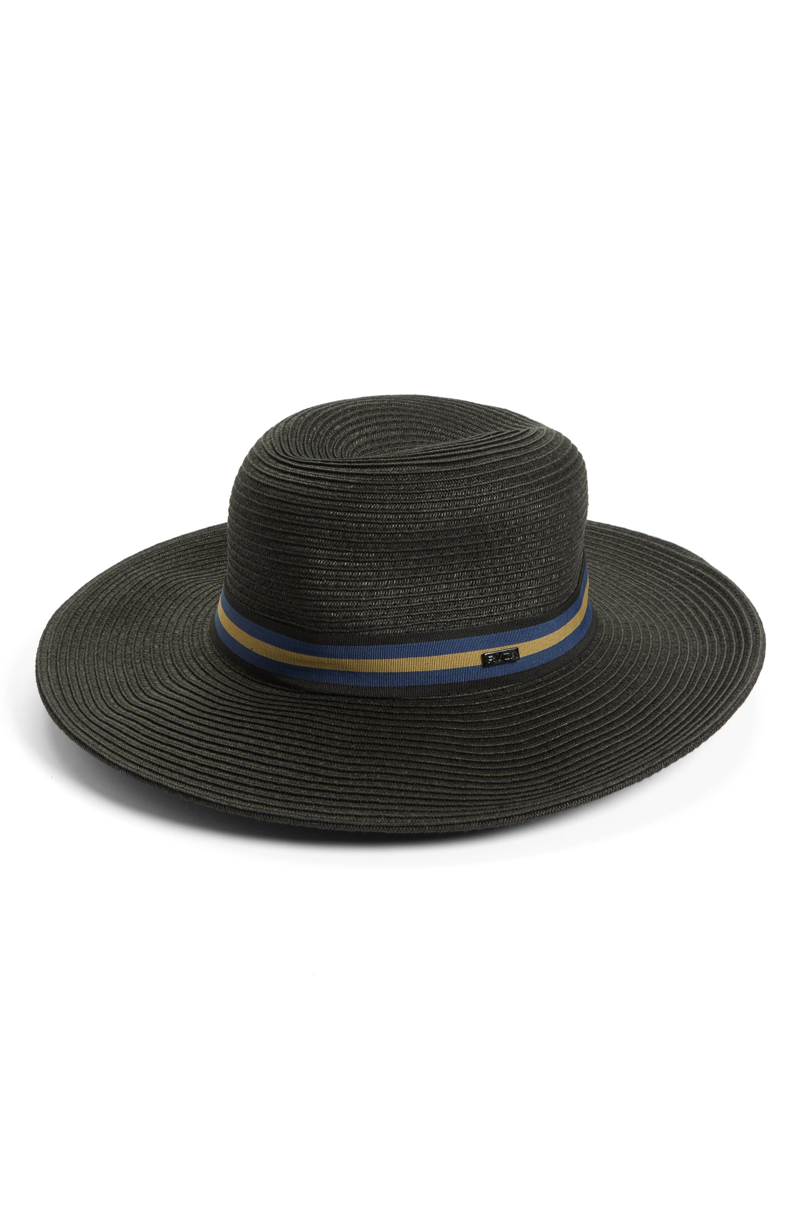 RVCA High Road Straw Boater Hat