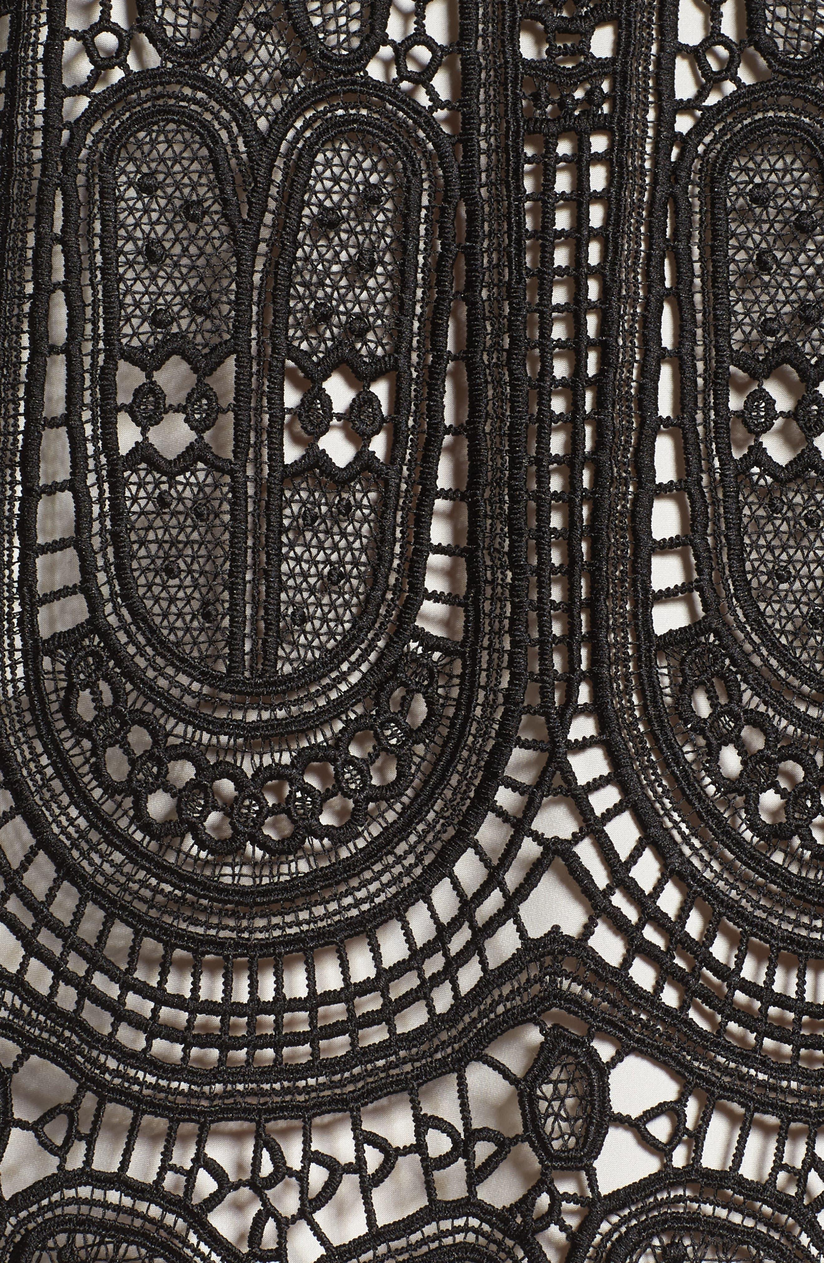 Alternate Image 5  - Kobi Halperin Gaia Lace Shift Dress (Nordstrom Exclusive)