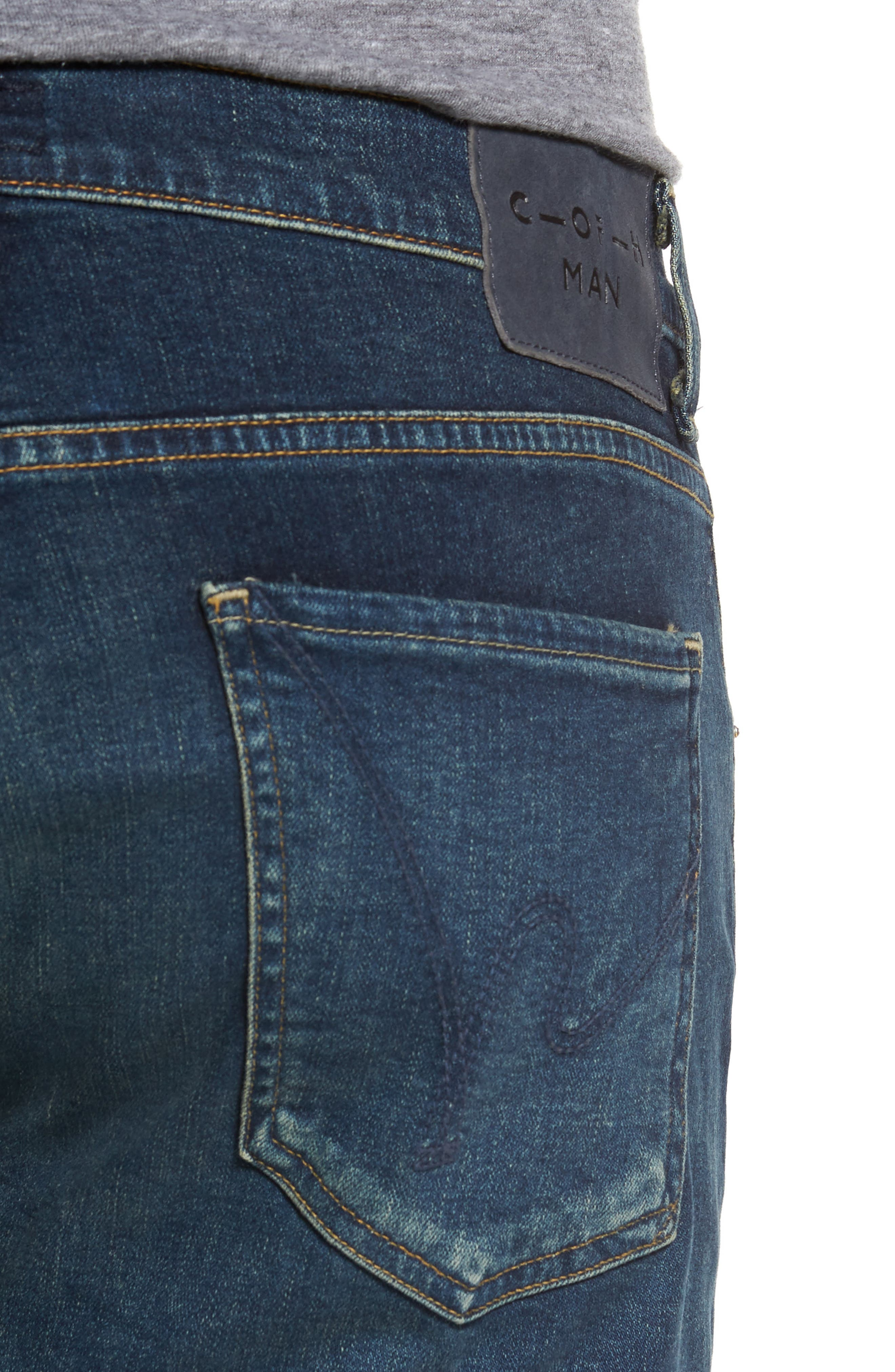 Alternate Image 4  - Citizens of Humanity Sid Straight Leg Jeans (Brigade)