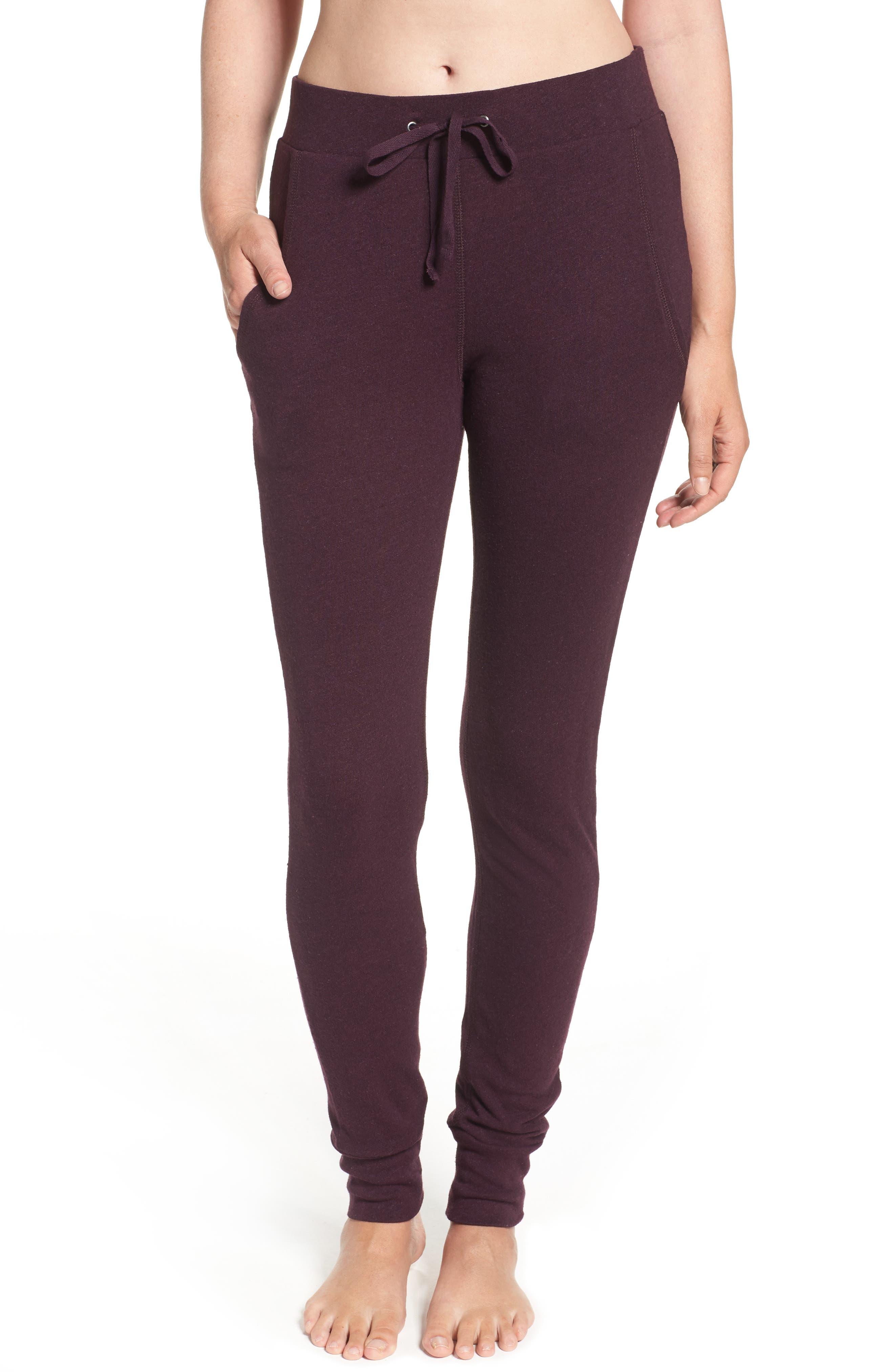Alternate Image 1 Selected - UGG® Clementine Cotton & Silk Pajama Pants