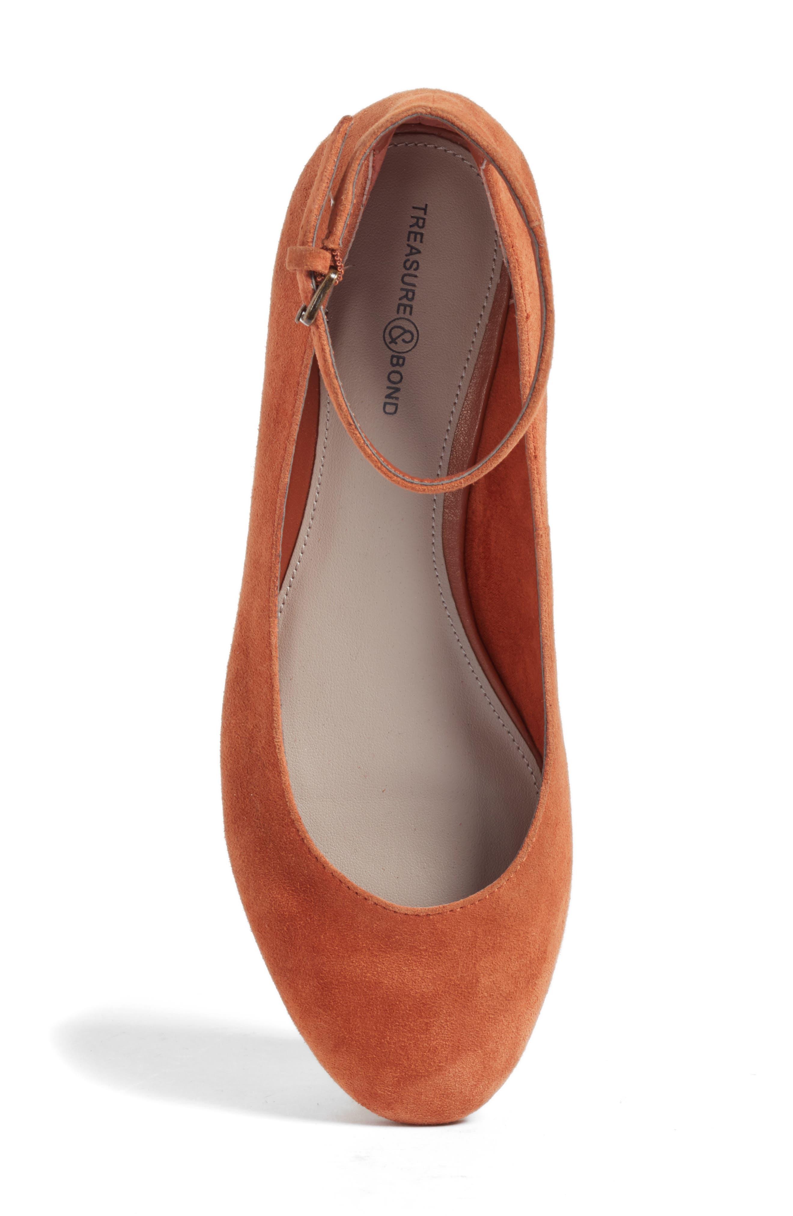 Alternate Image 5  - Treasure & Bond Jules Ankle Strap Ballet Flat (Women)