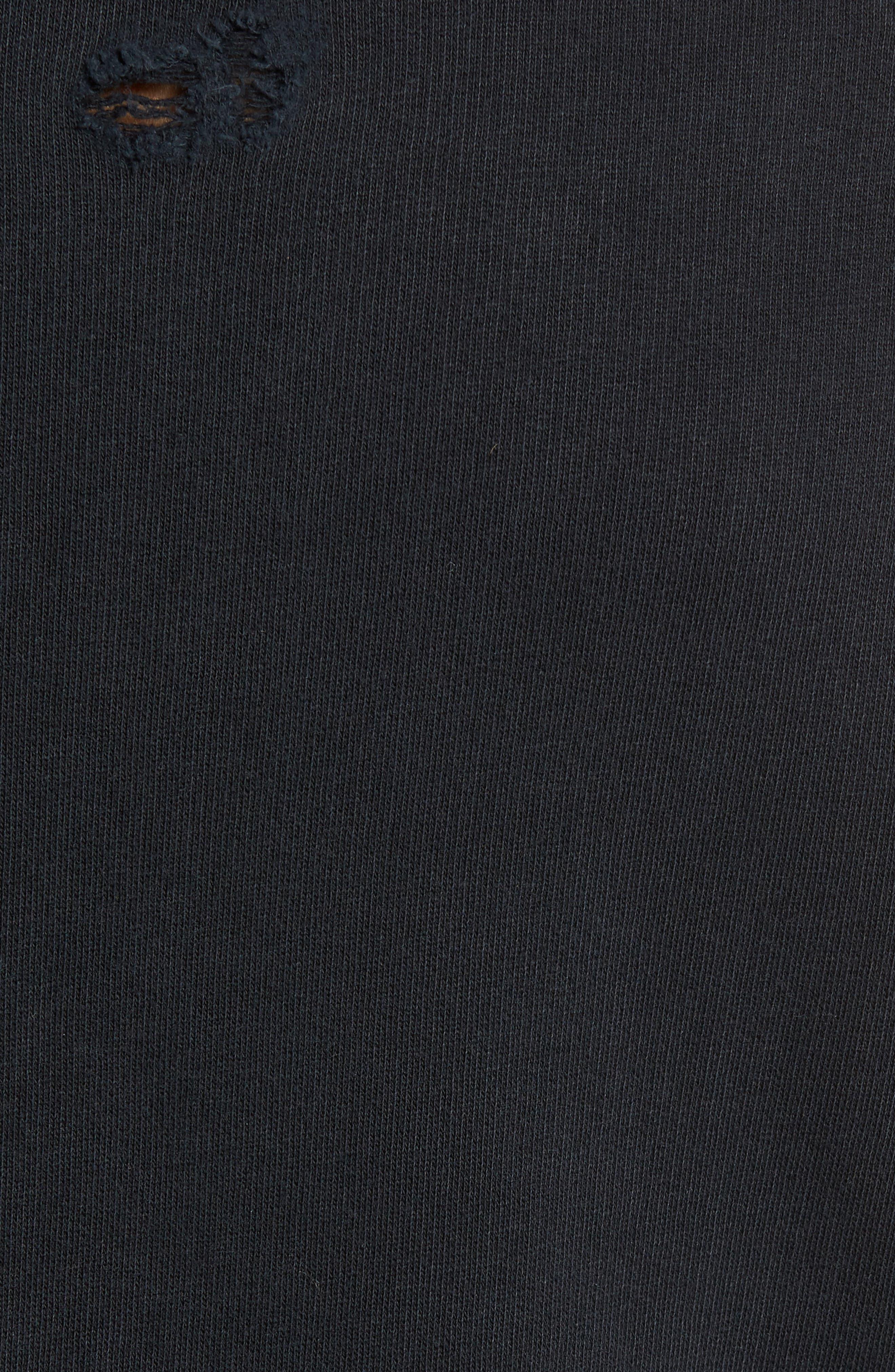 Alternate Image 6  - Hudson Jeans Striker Slim Fit Crewneck Sweatshirt