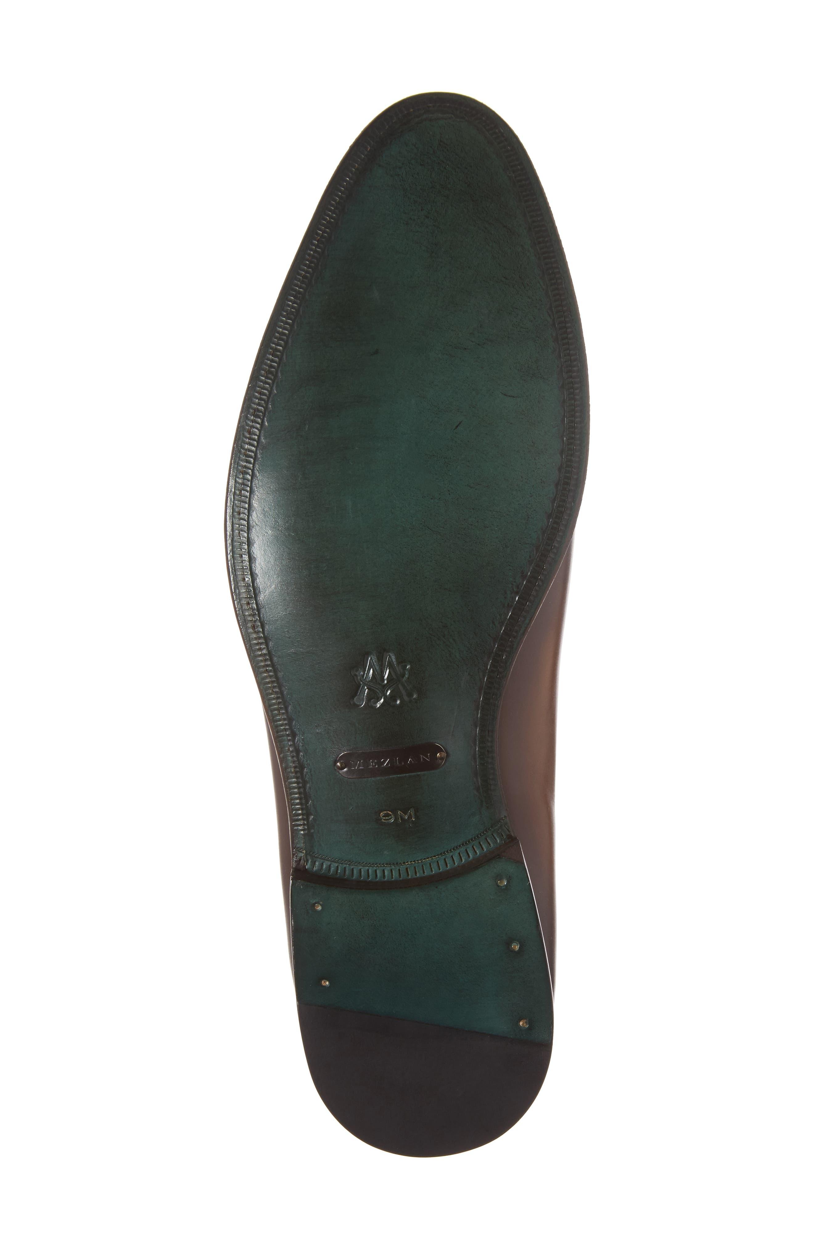 Rodin Apron Toe Loafer,                             Alternate thumbnail 6, color,                             Cognac Leather