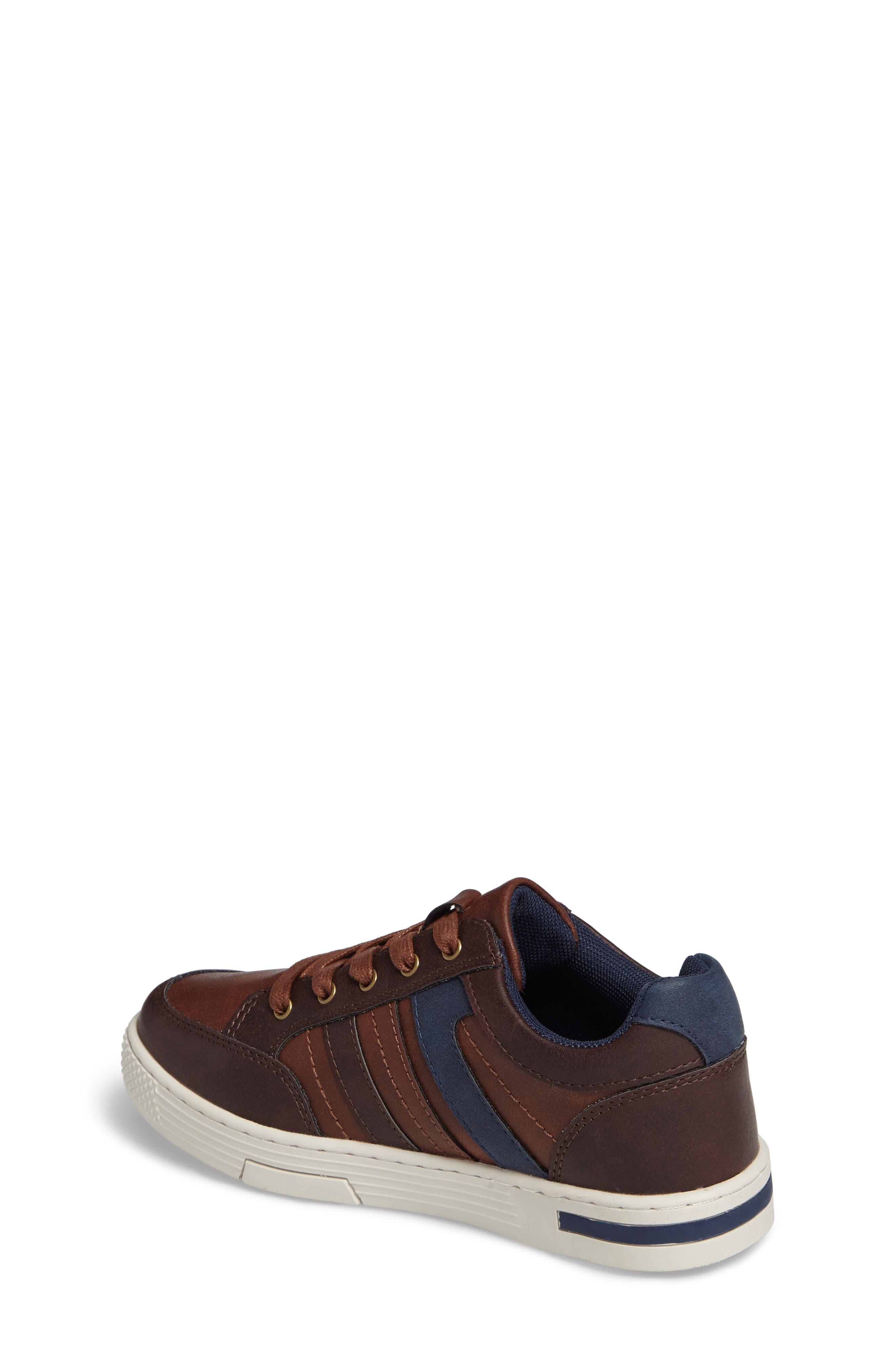 Trakk Sneaker,                             Alternate thumbnail 2, color,                             Brown Multi