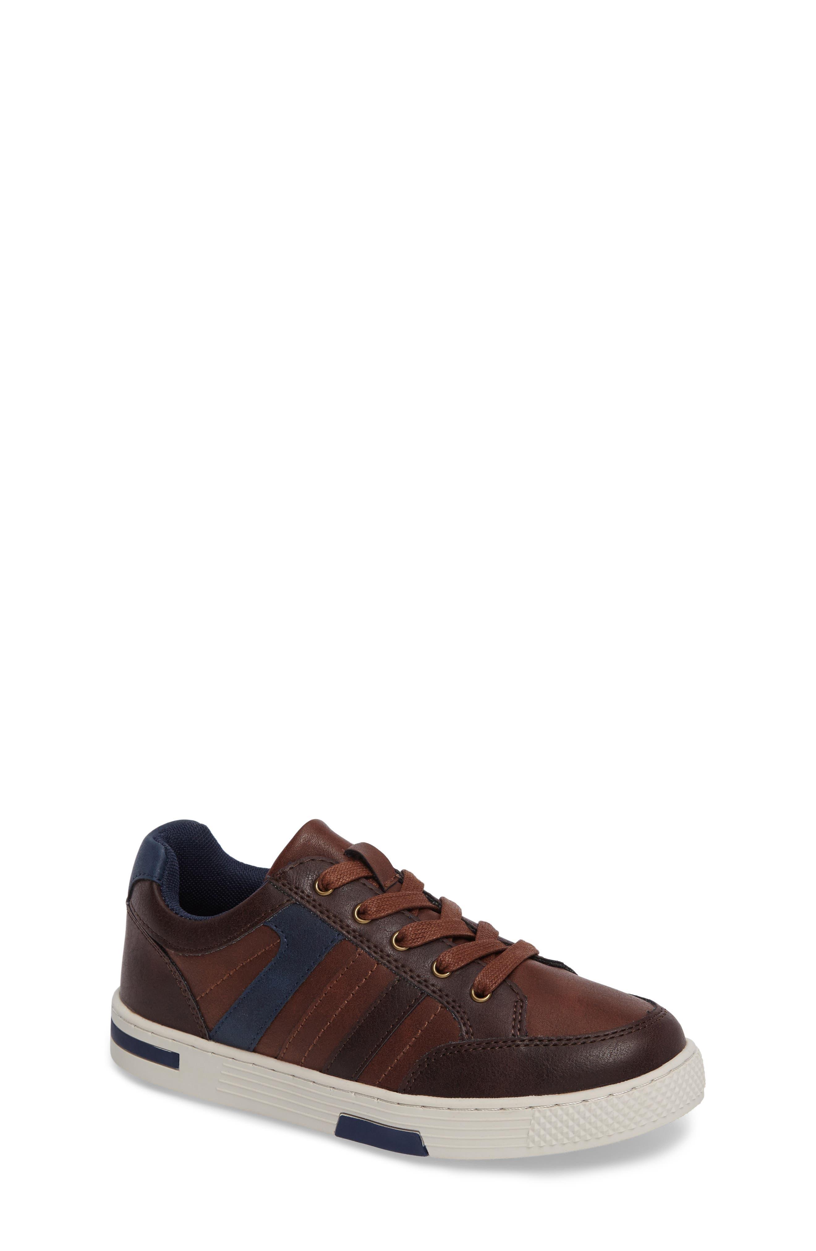 Trakk Sneaker,                             Main thumbnail 1, color,                             Brown Multi